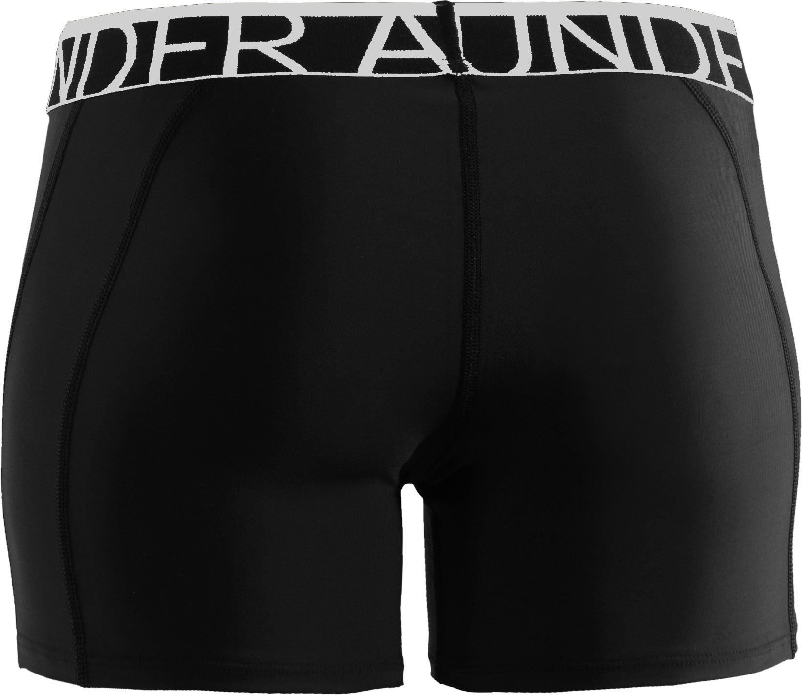 "Women's UA Still Gotta Have It 4"" Compression Shorts, Black , undefined"
