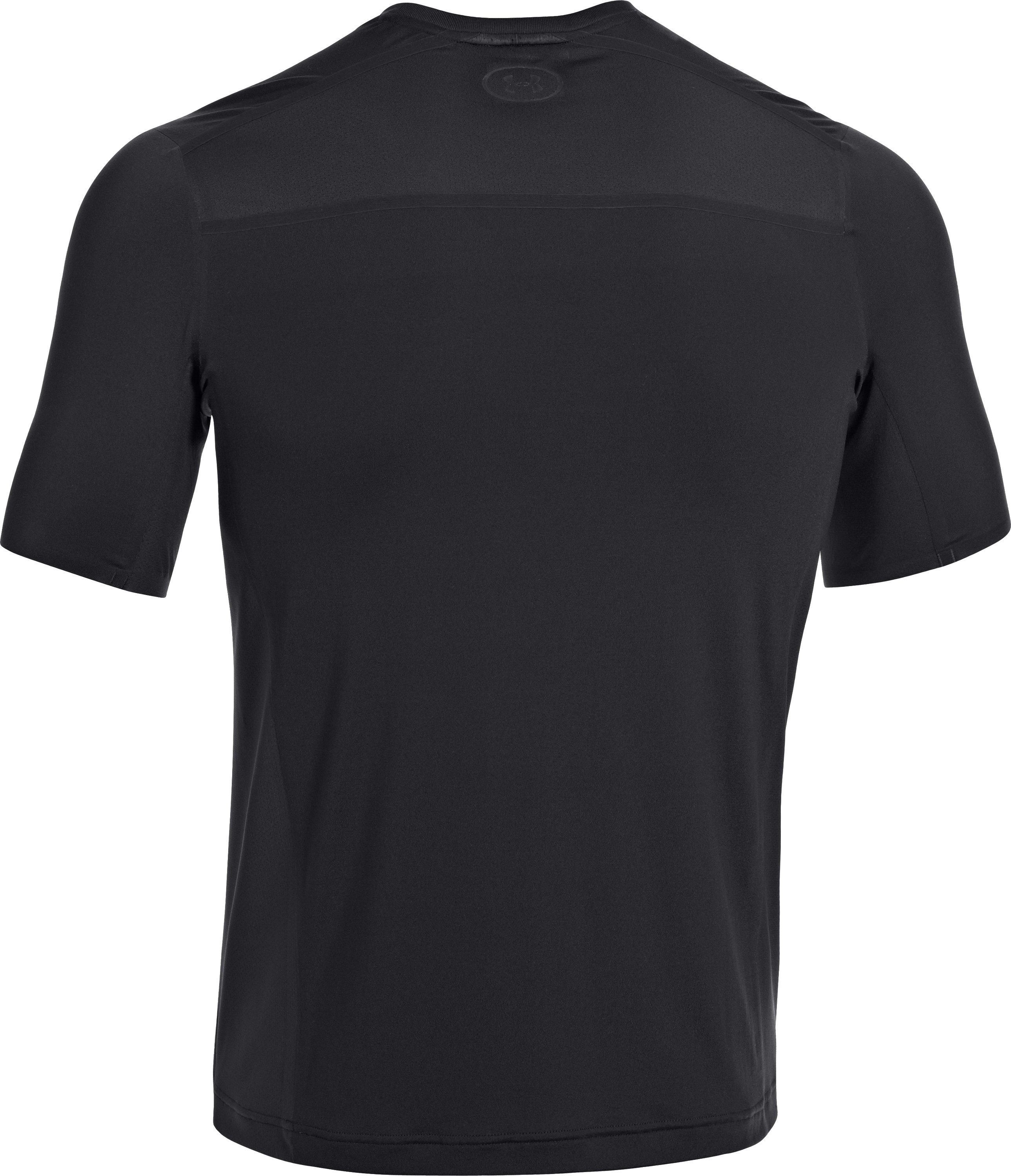 Men's UA Station Crew T-Shirt, Black