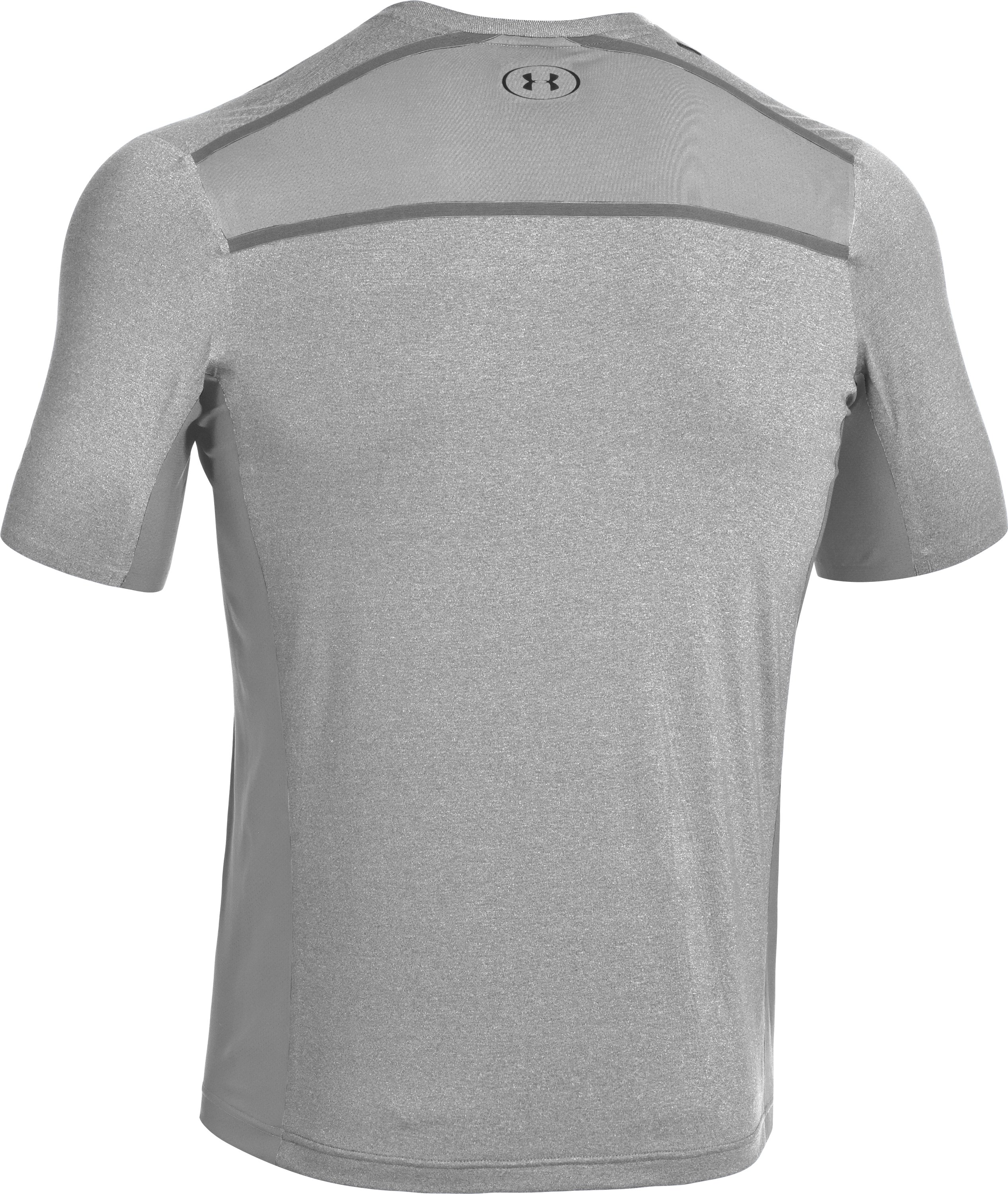 Men's UA Station Crew T-Shirt, True Gray Heather, undefined