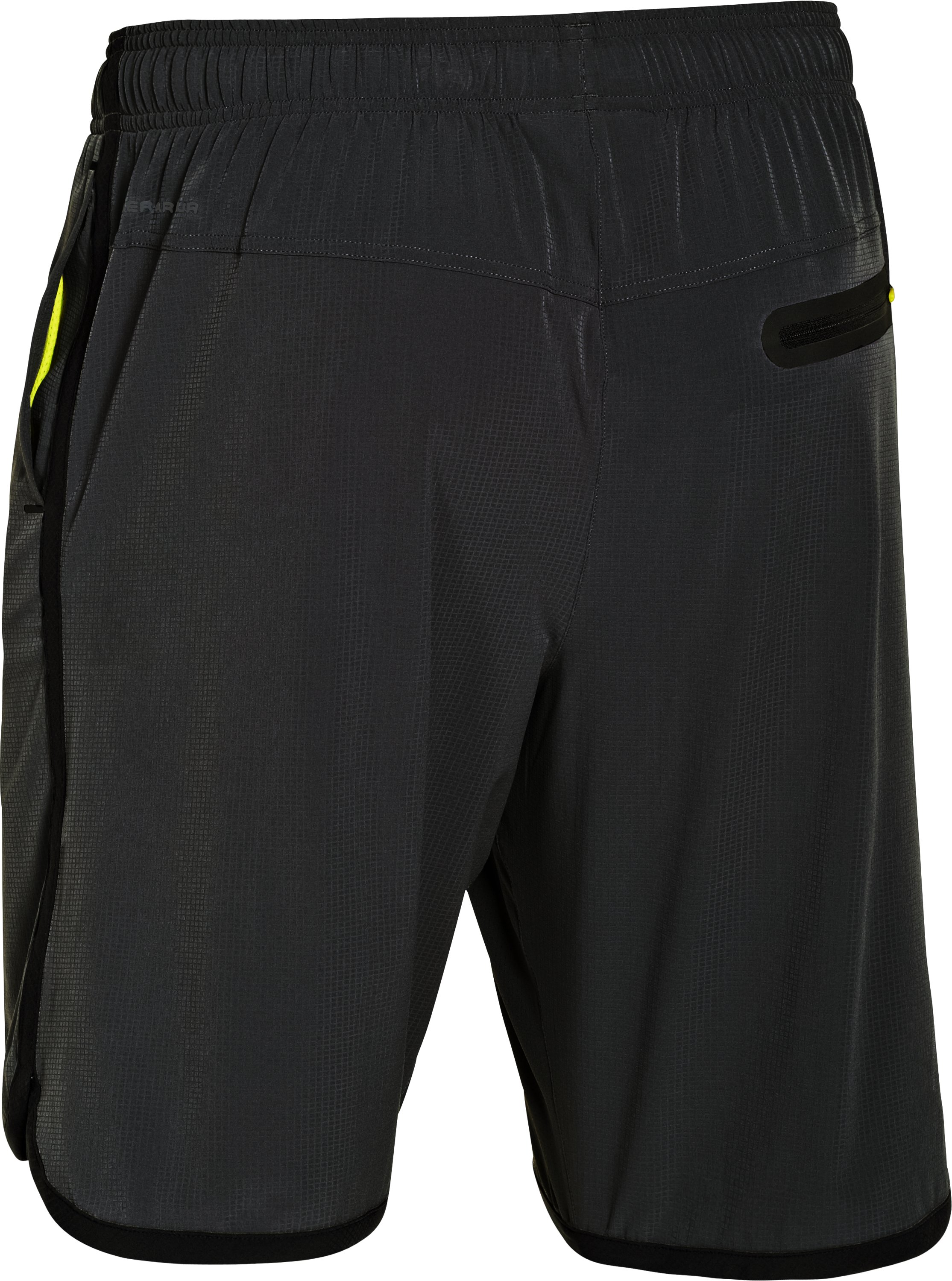 Men's UA Interval Woven Shorts, Black , undefined