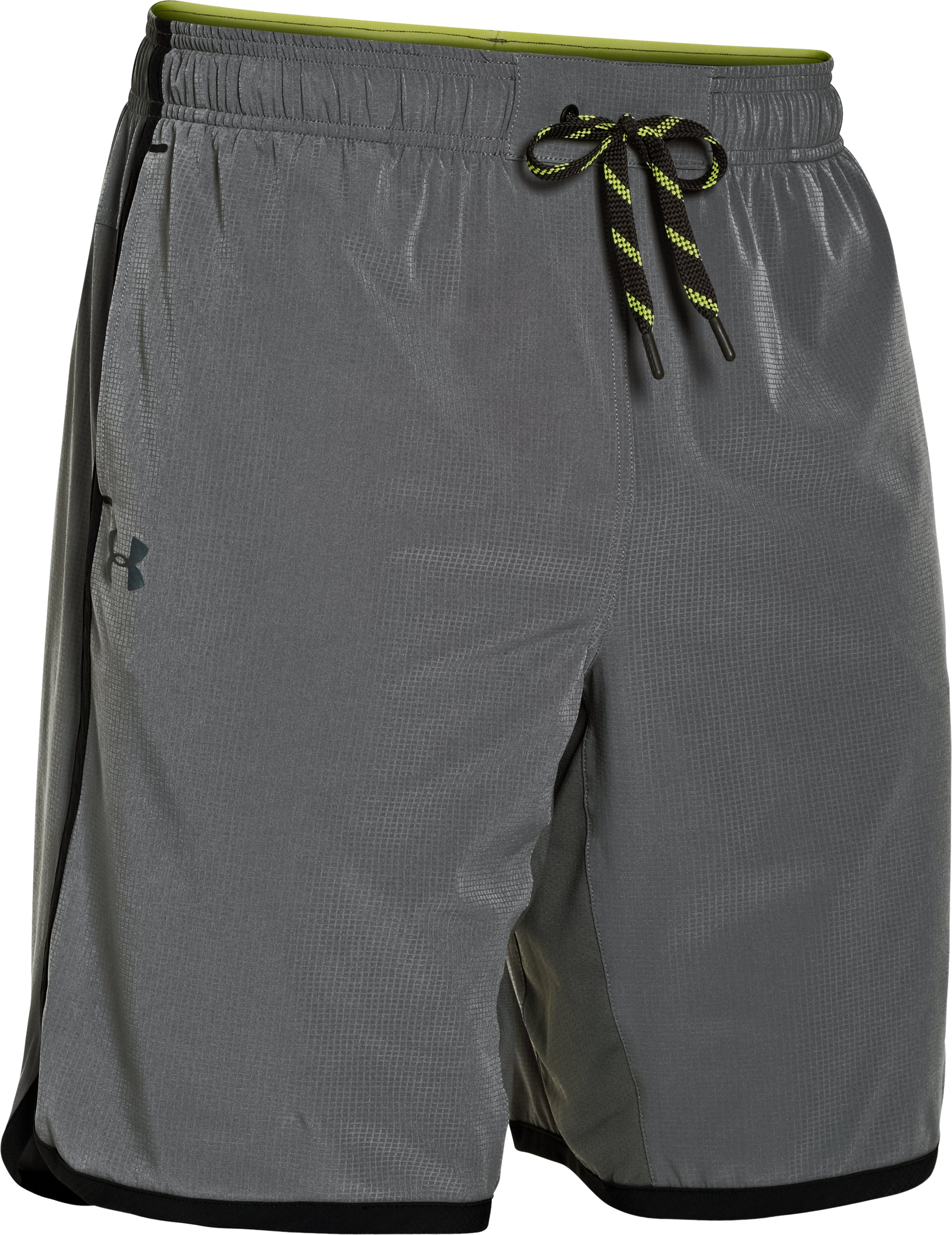 Men's UA Interval Woven Shorts, Graphite, undefined