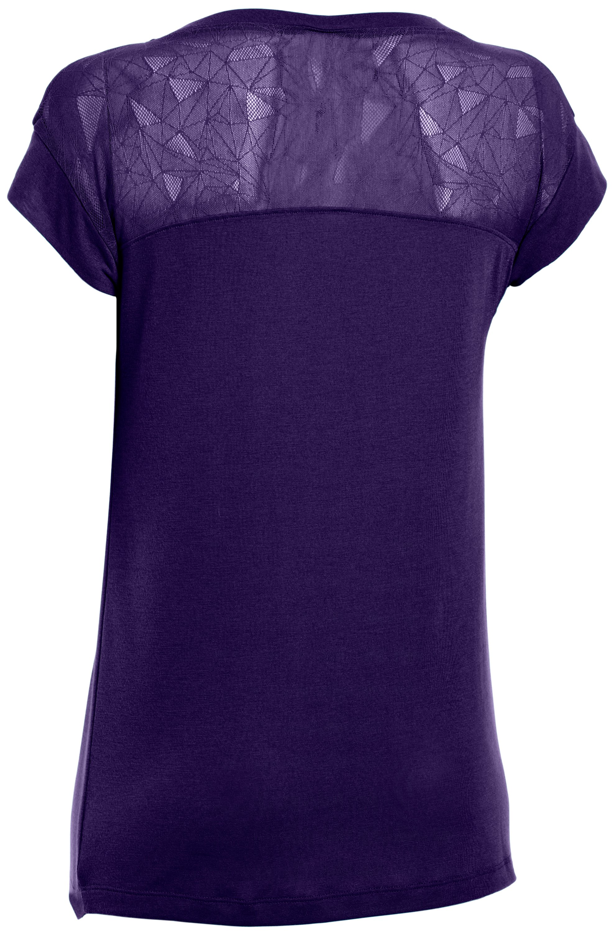 Women's UA Icon T-Shirt, Purple Rain
