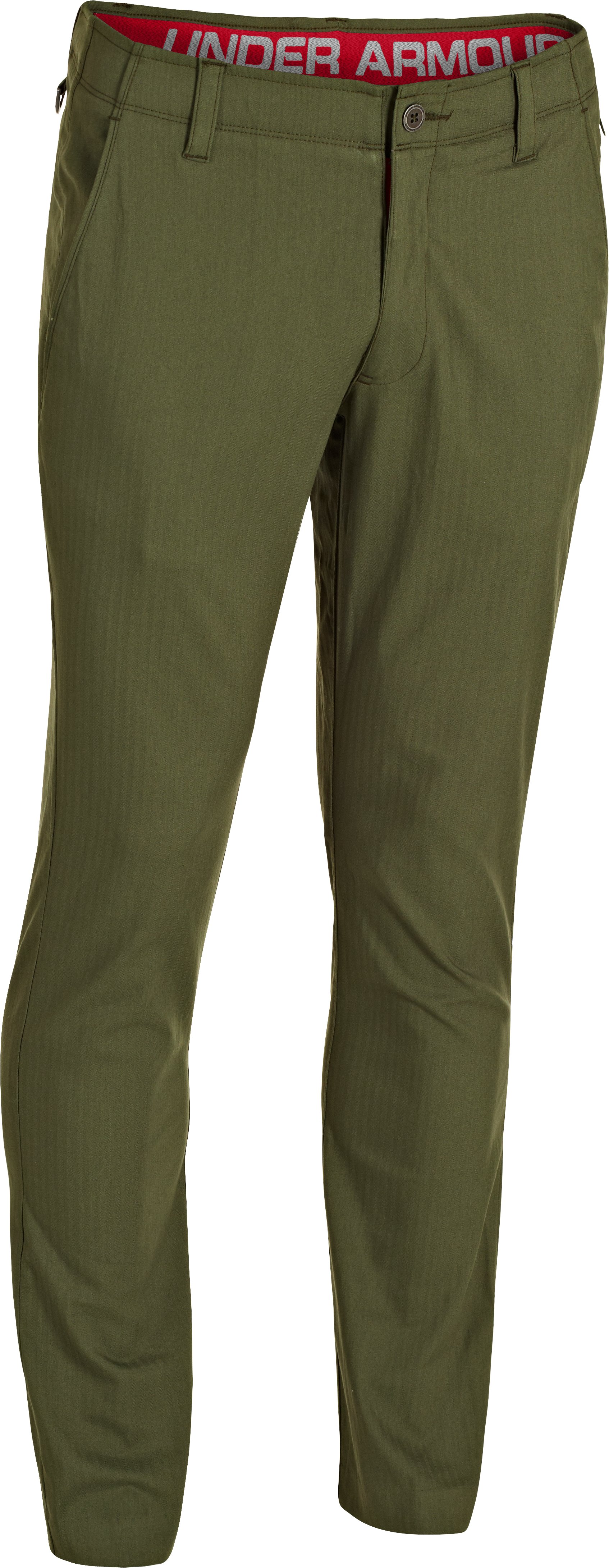 Men's UA Performance Chino – Tapered Leg, Root,