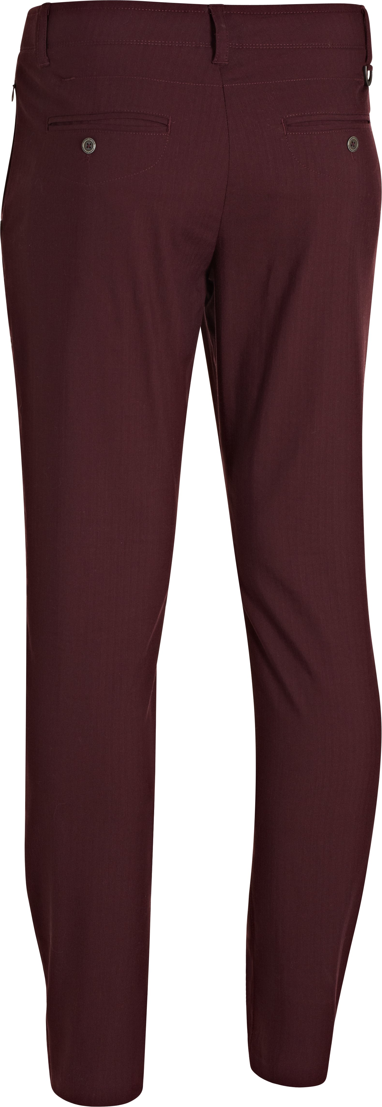 Men's UA Performance Chino – Tapered Leg, Ox Blood, undefined