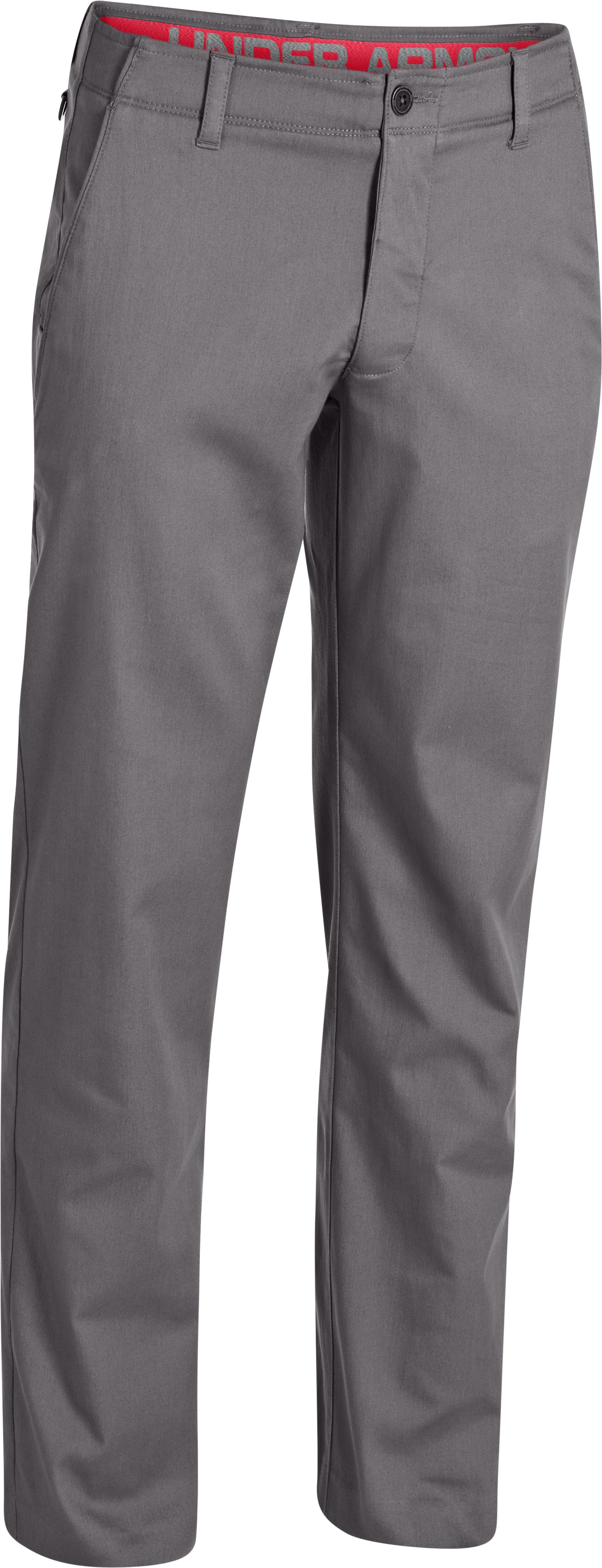 Men's UA Performance Chino – Straight Leg, Concrete