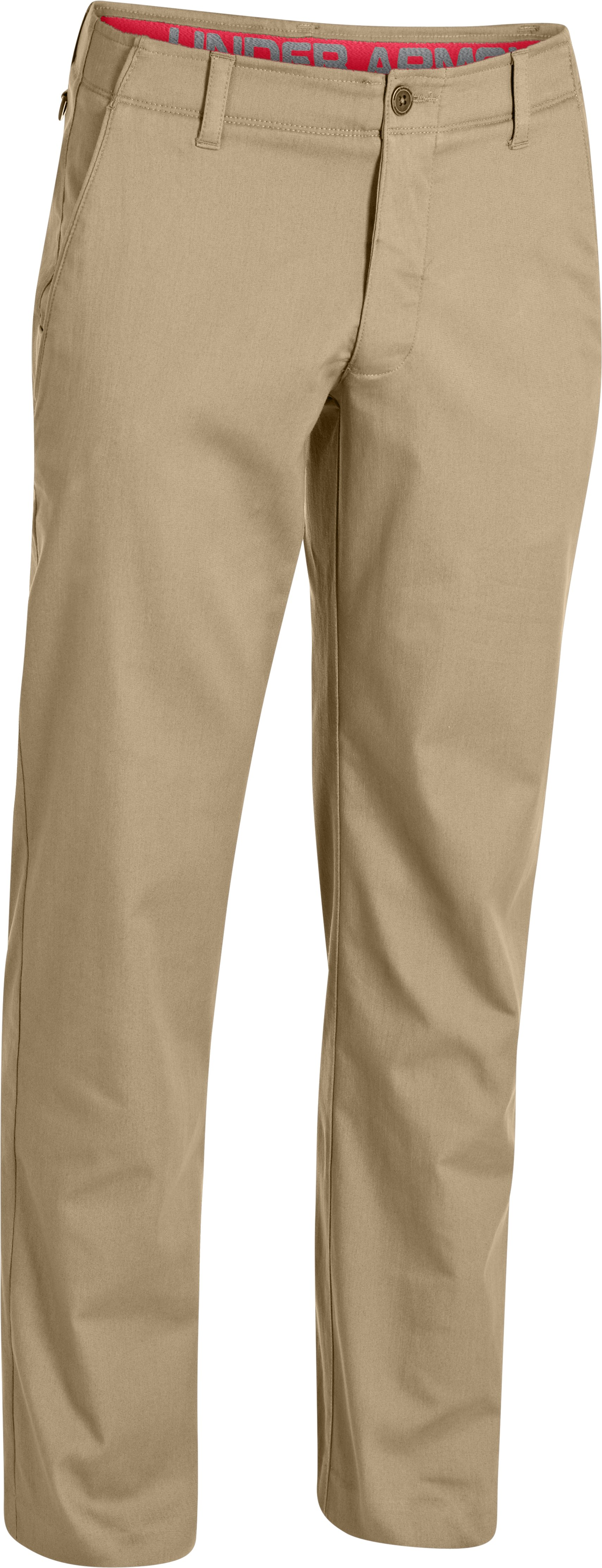 Men's UA Performance Chino – Straight Leg, Tapioca