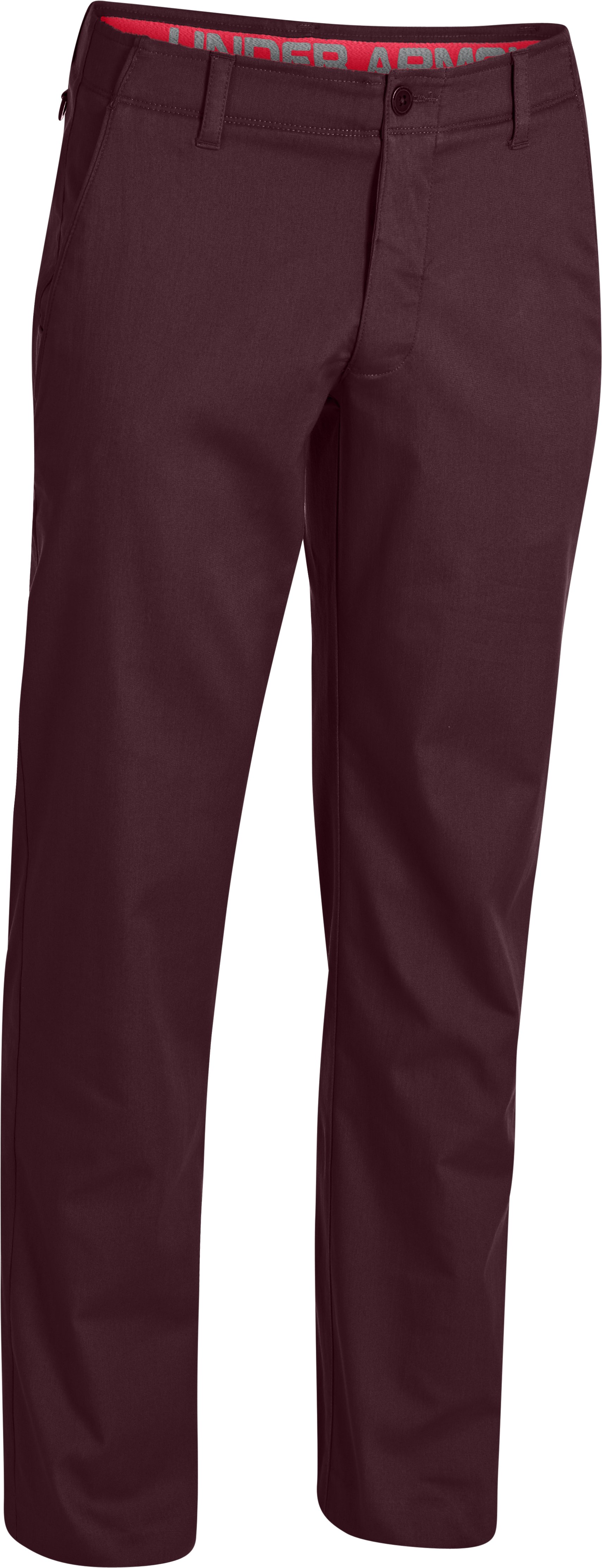 Men's UA Performance Chino, Ox Blood