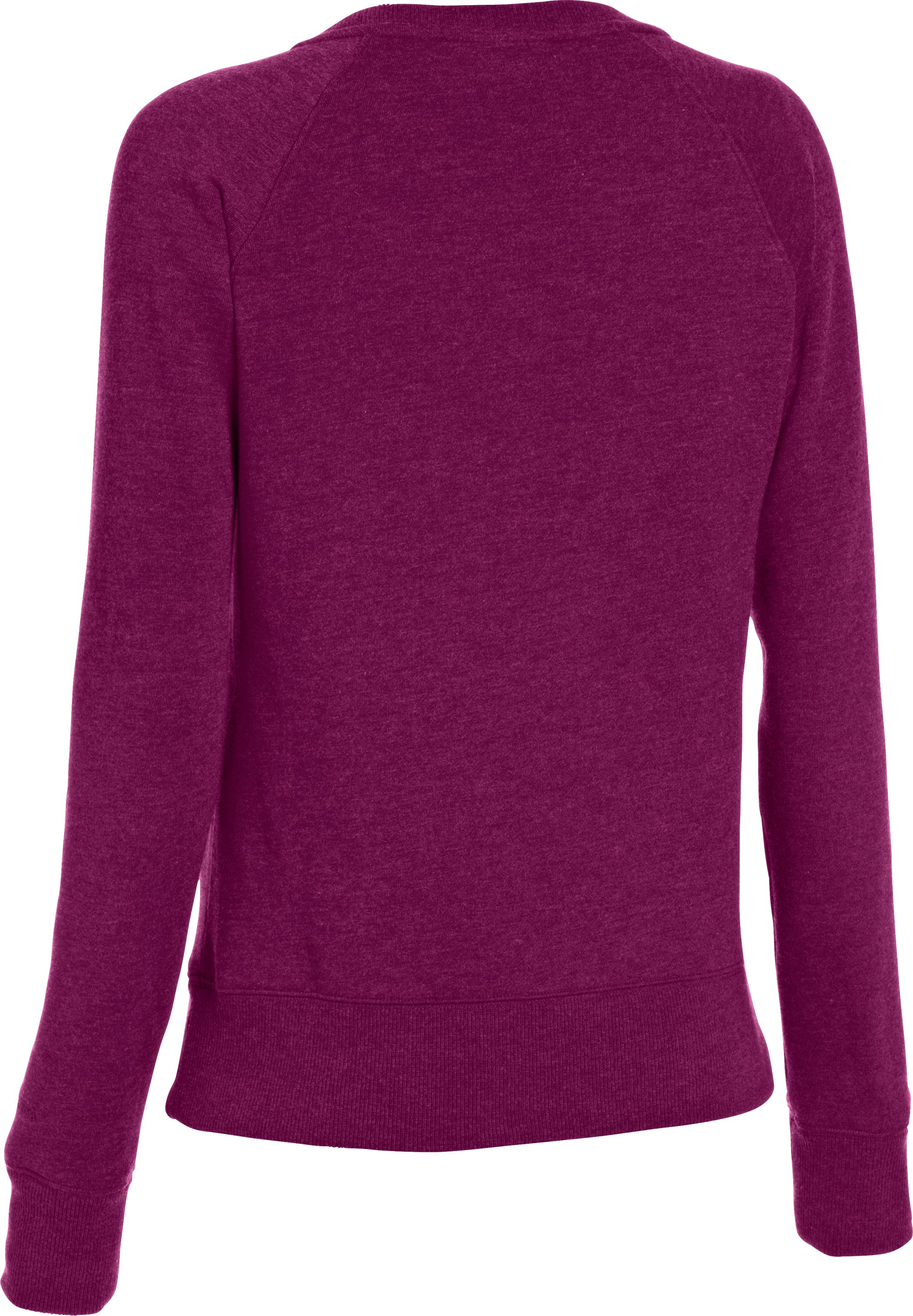 Women's Charged Cotton® Legacy Crew, Aubergine
