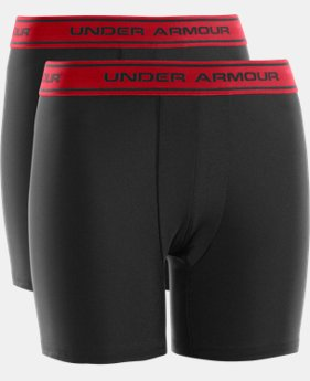 Boys' UA Original Series Boxerjock® 2-Pack  2 Colors $15.99 to $18.99