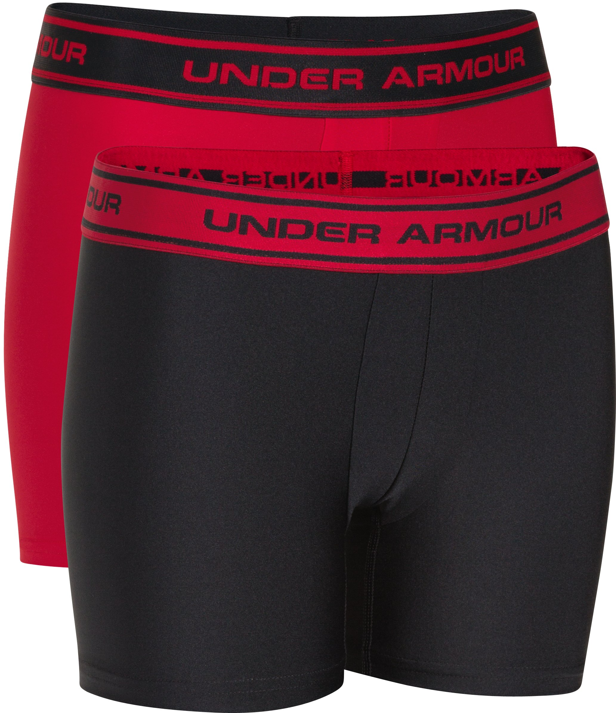 Boys' UA Original Series Boxerjock® 2-Pack, Black