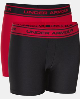 Boys' UA Original Series Boxerjock® 2-Pack LIMITED TIME: FREE SHIPPING 1 Color $30