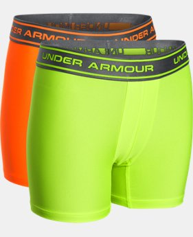 Boys' UA Original Series Boxerjock® 2-Pack LIMITED TIME: UP TO 30% OFF 1 Color $18.99