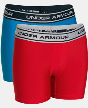 Boys' UA Original Series Boxerjock® 2-Pack  1 Color $15.99 to $18.99
