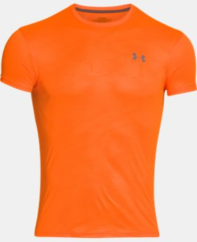 Men's UA HeatGear® Flyweight Crew Undershirt LIMITED TIME: FREE U.S. SHIPPING 1 Color $14.24