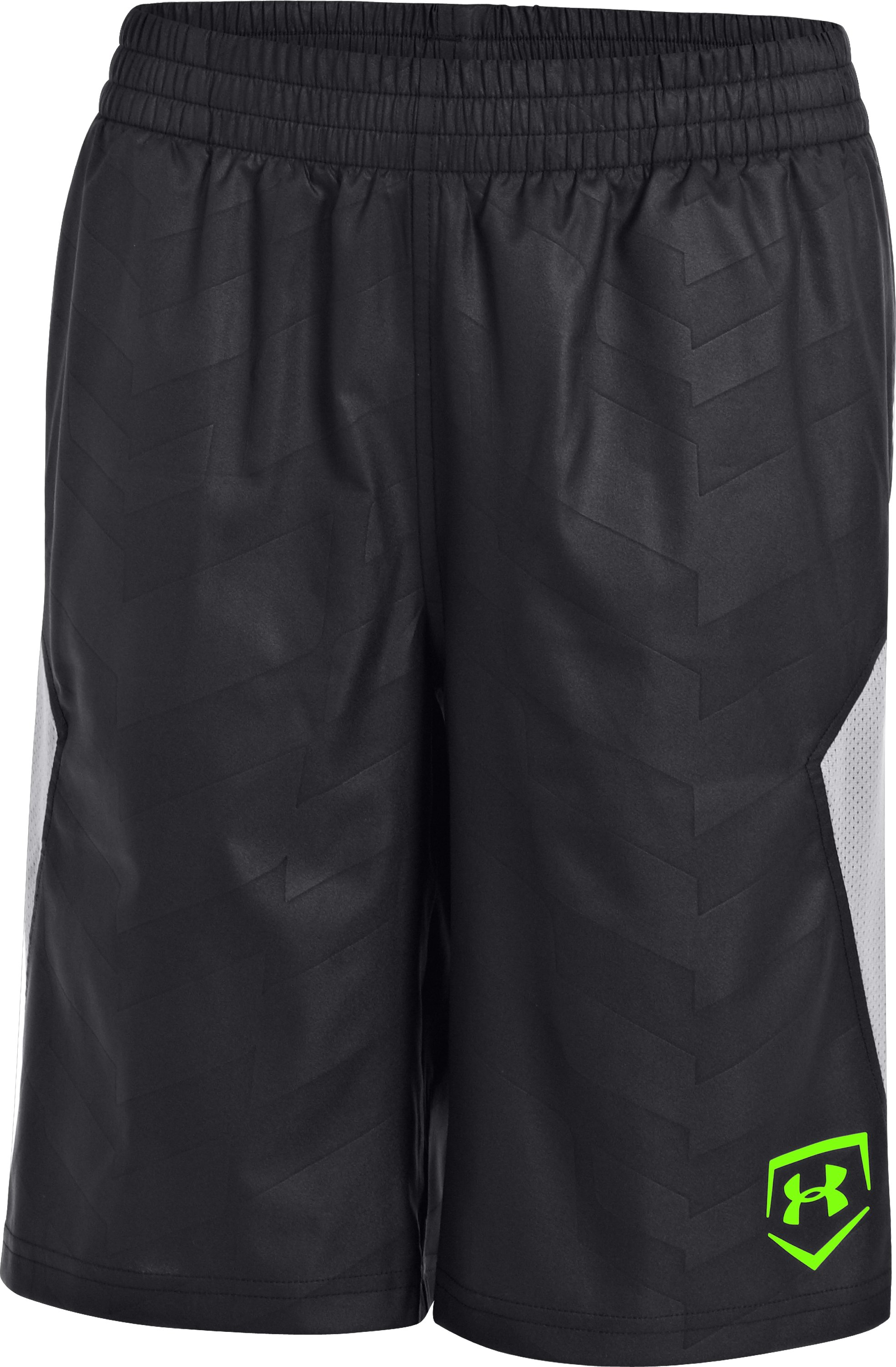 Boys' UA CTG Baseball Training Shorts, Black , undefined