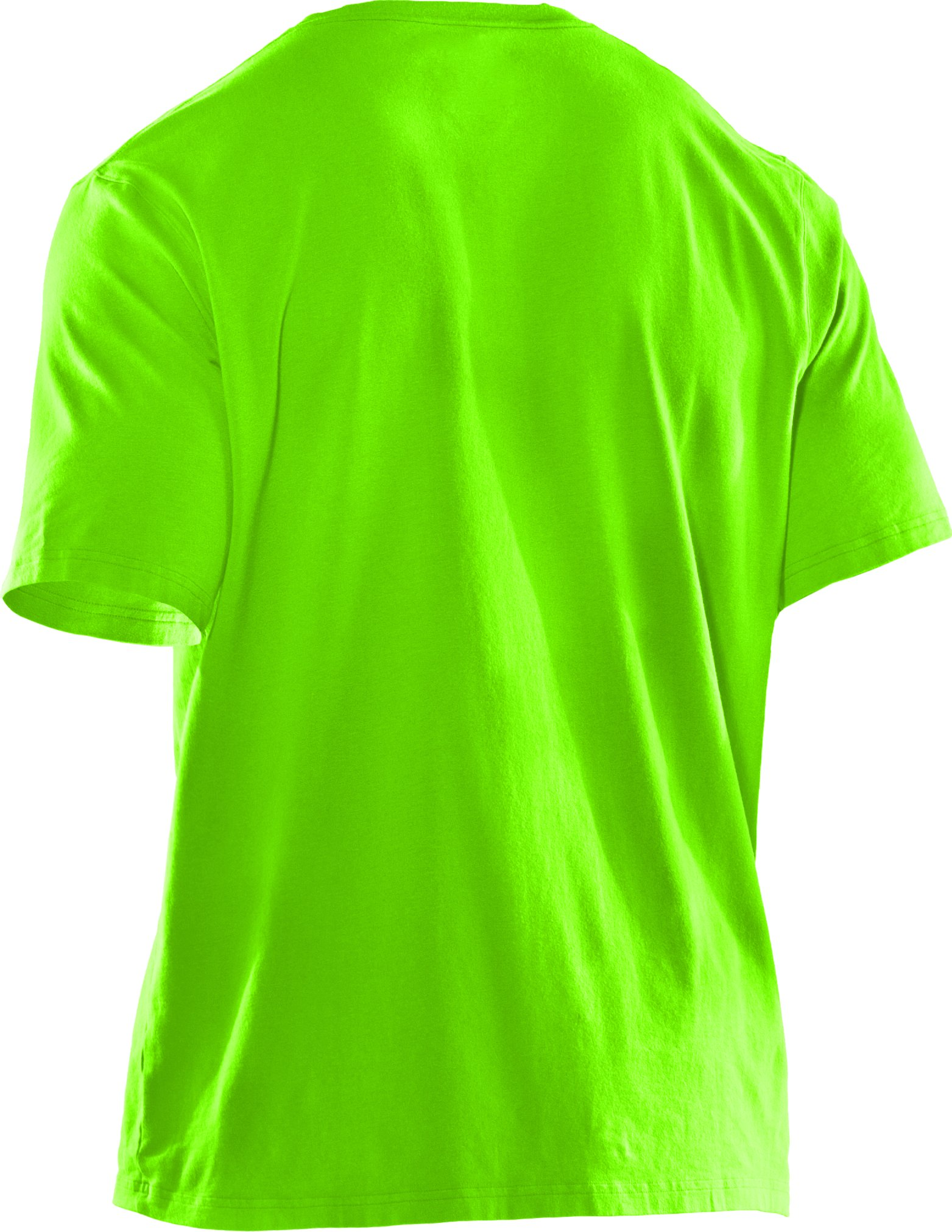 Boys' UA CTG Show Me Sweat T-Shirt, HYPER GREEN
