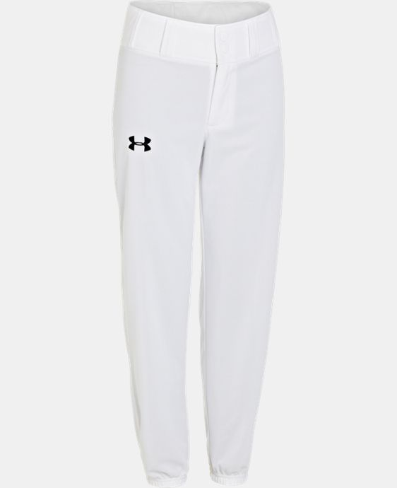 Boys' UA Clean Up Closed Bottom Baseball Pants  1 Color $22.99