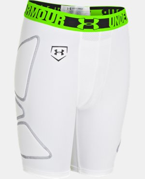 Boys' UA Break Through Slider  2 Colors $17.24 to $17.99