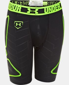 Boys' UA Break Through Printed Slider  4 Colors $20.24 to $26.99