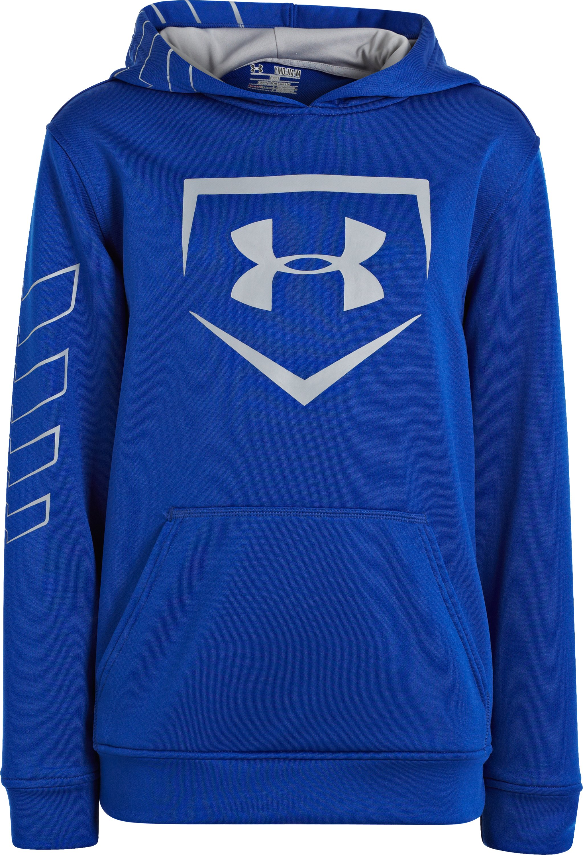 Boys' UA CTG Baseball Training Hoodie, Royal, zoomed image