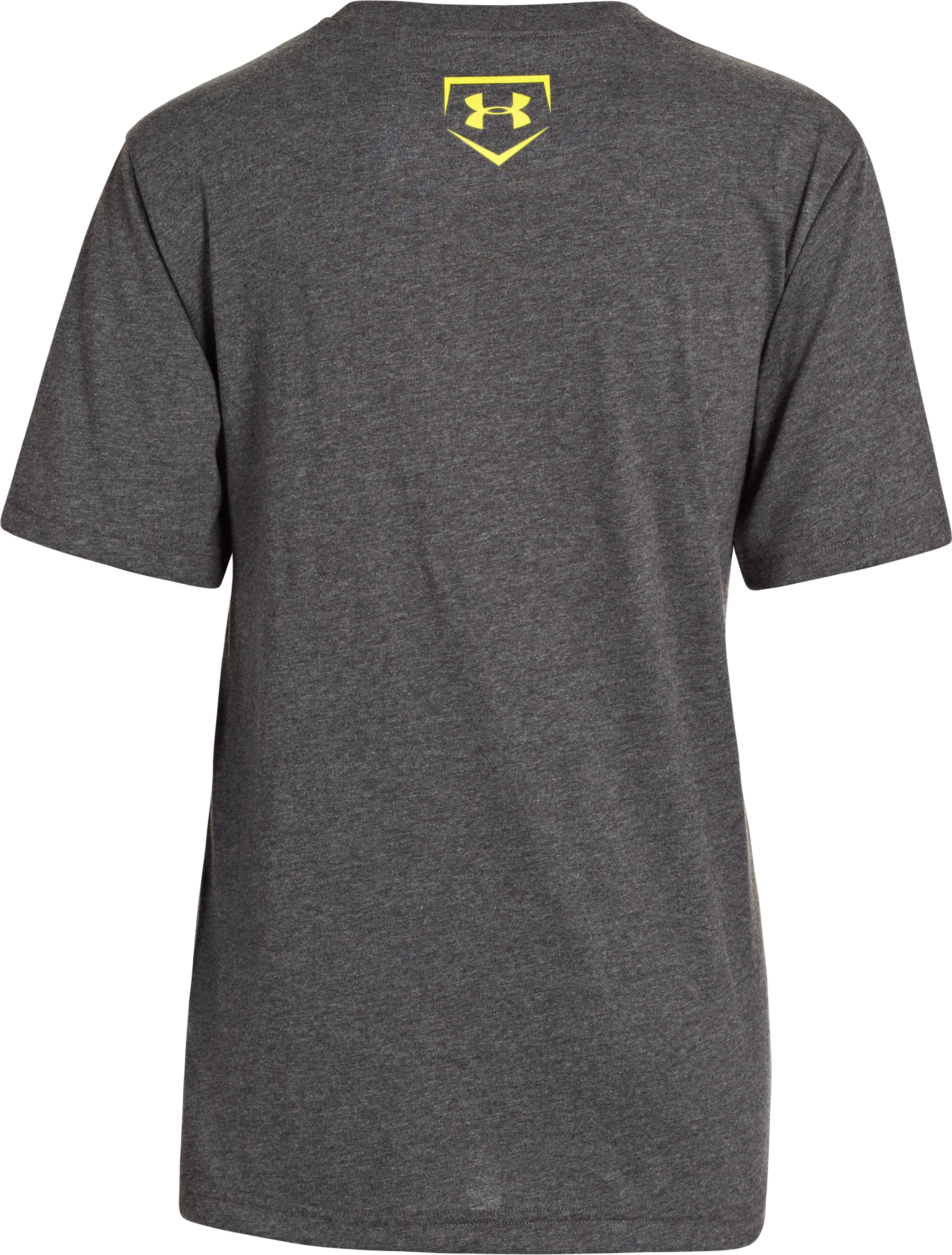 Boys' UA Clutch T-Shirt, Carbon Heather