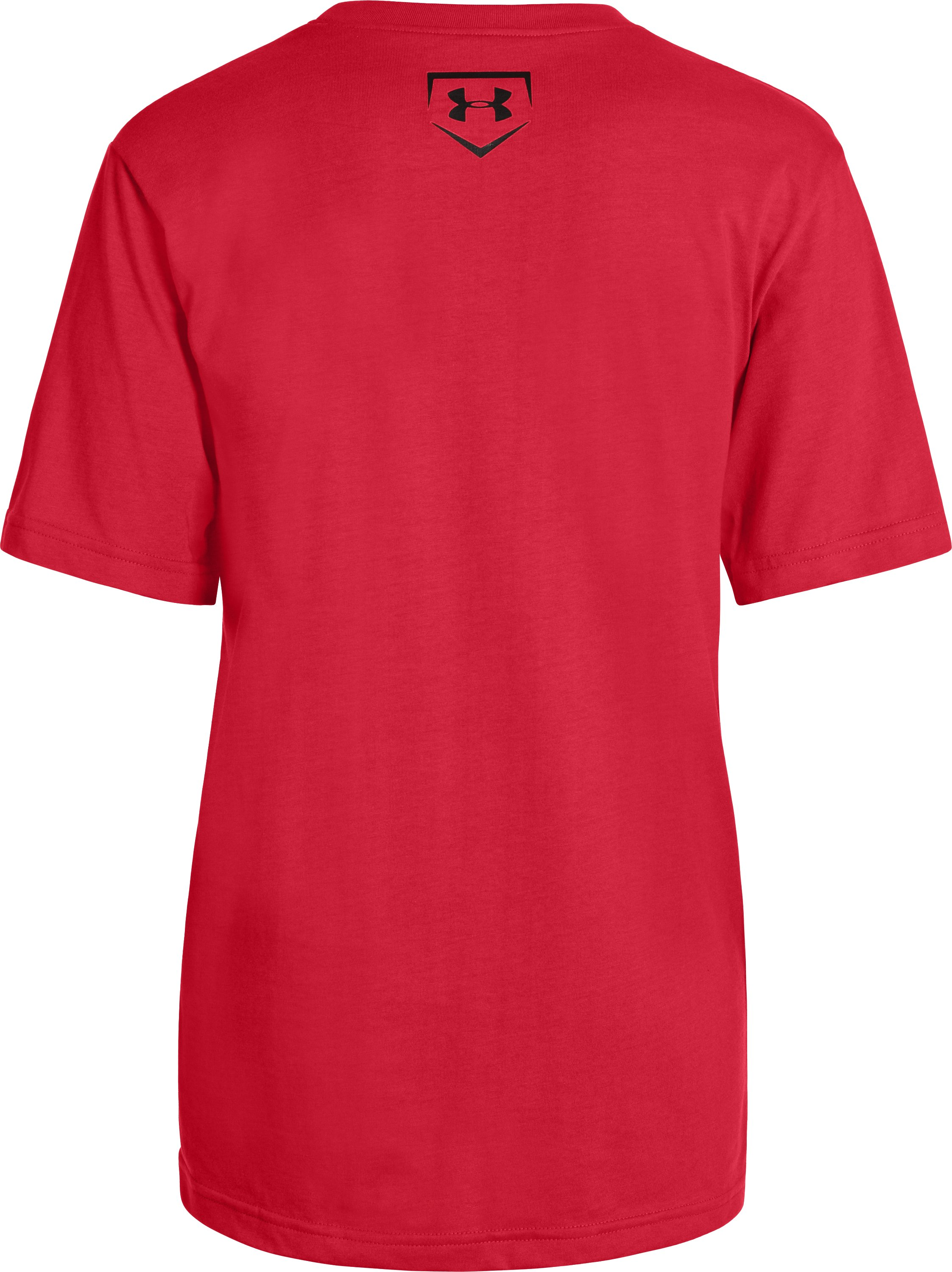 Boys' UA Clutch T-Shirt, Red