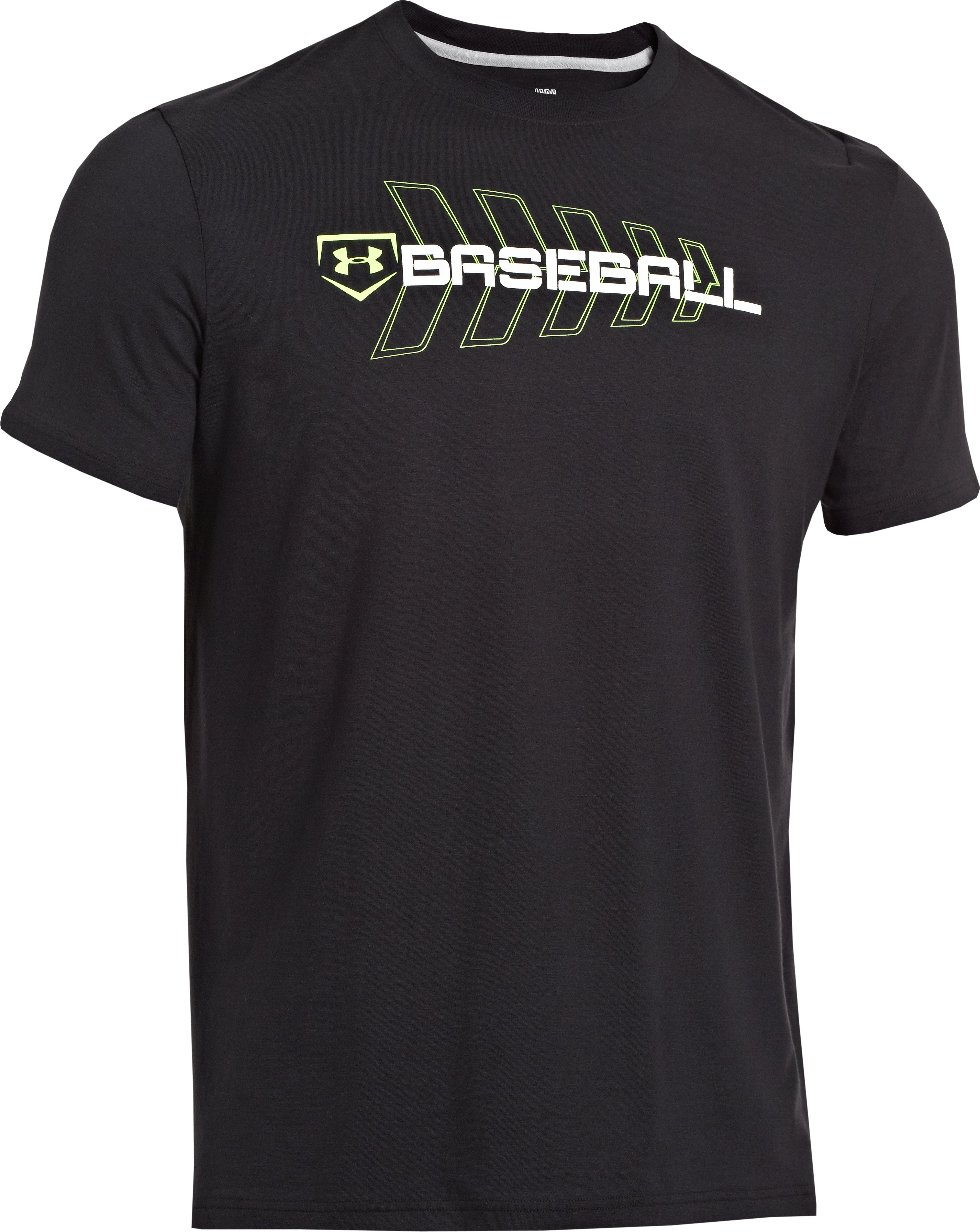 Men's UA Baseball T-Shirt, Black