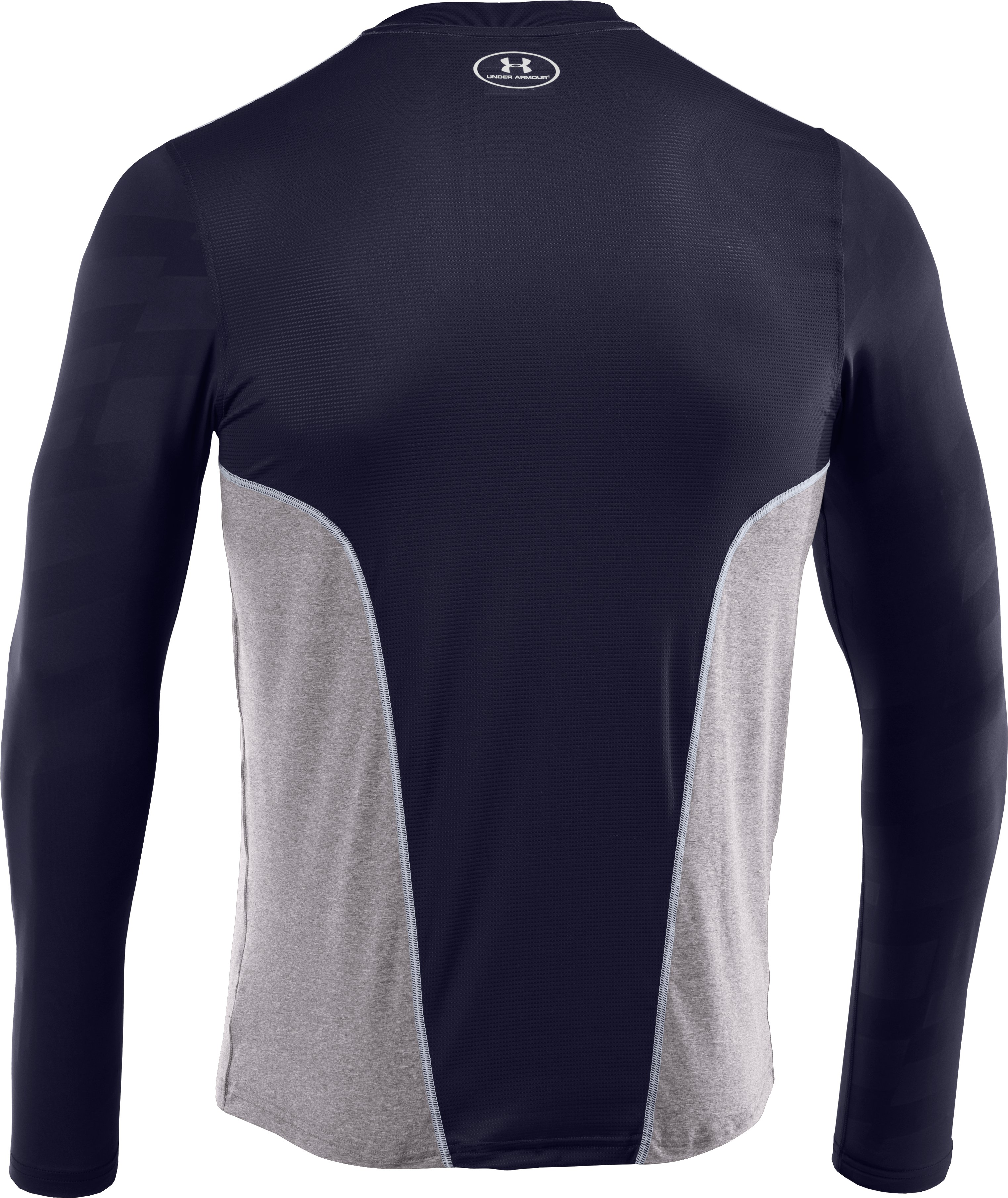 Men's UA Spine™ Gameday Long Sleeve, Midnight Navy