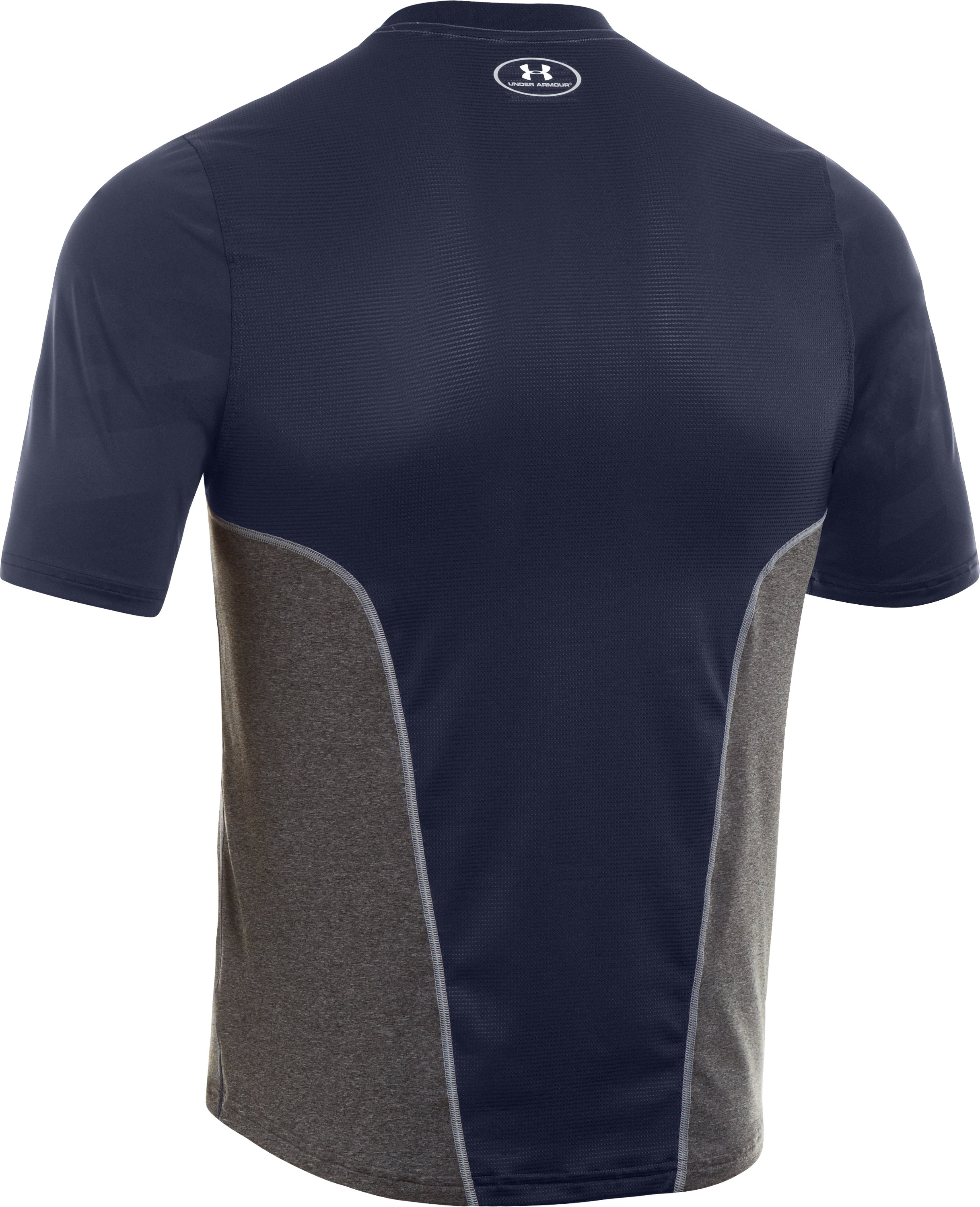 Men's UA Spine™ Gameday Short Sleeve, Midnight Navy