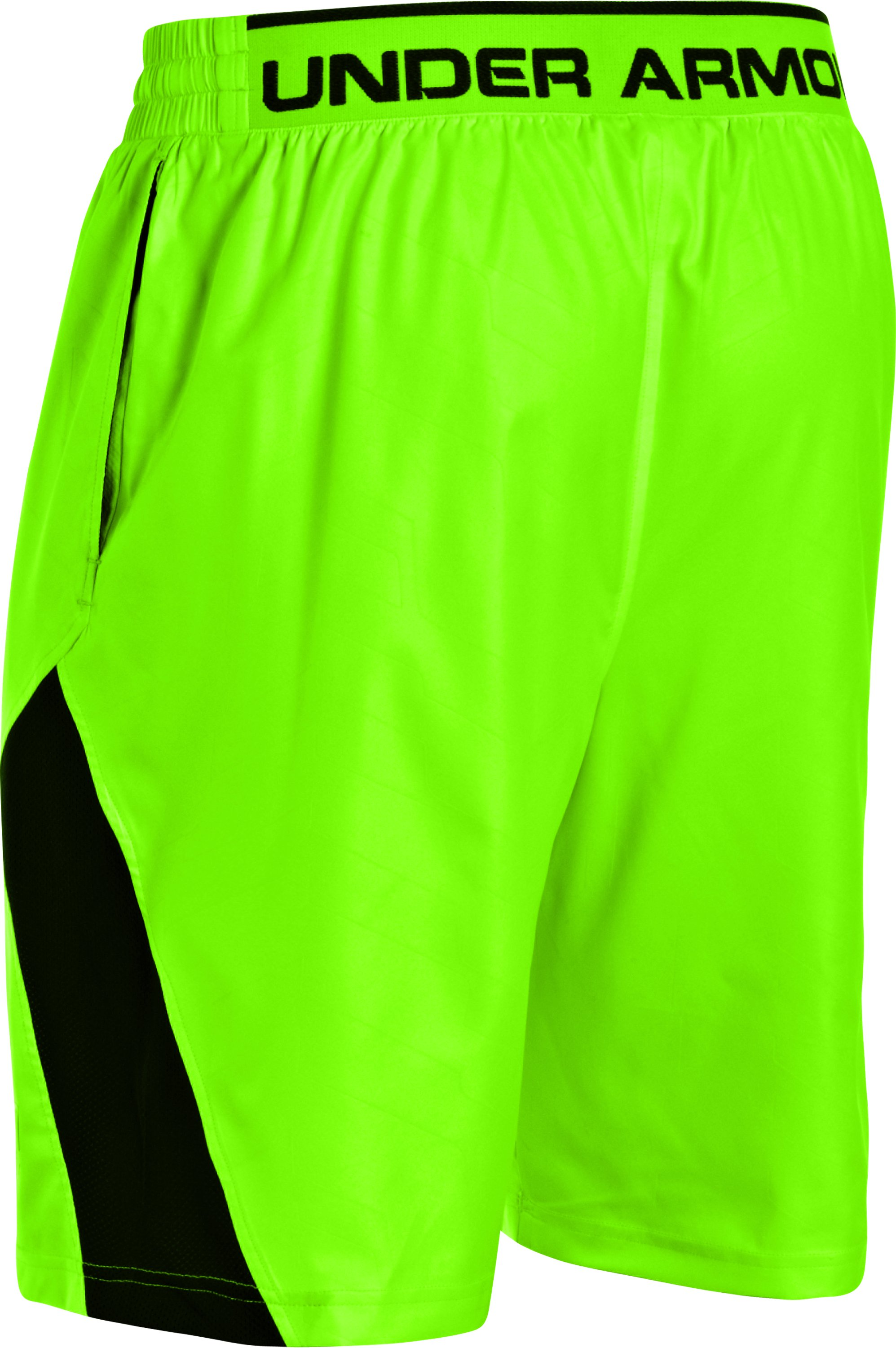 Men's UA CTG Baseball Training Shorts, HYPER GREEN,
