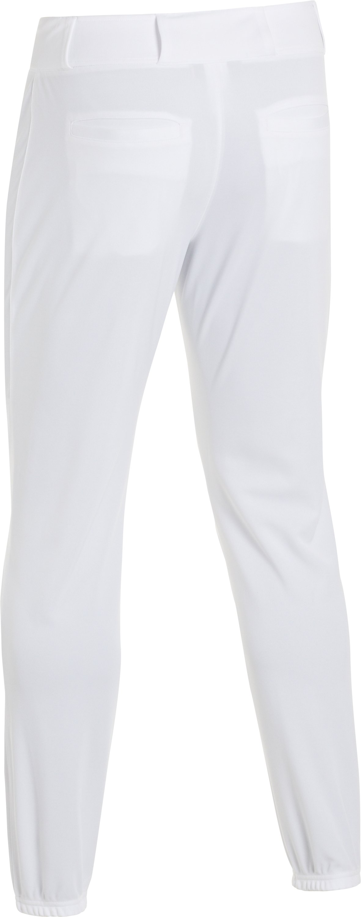 Men's UA Clean Up Closed Baseball Pants, White