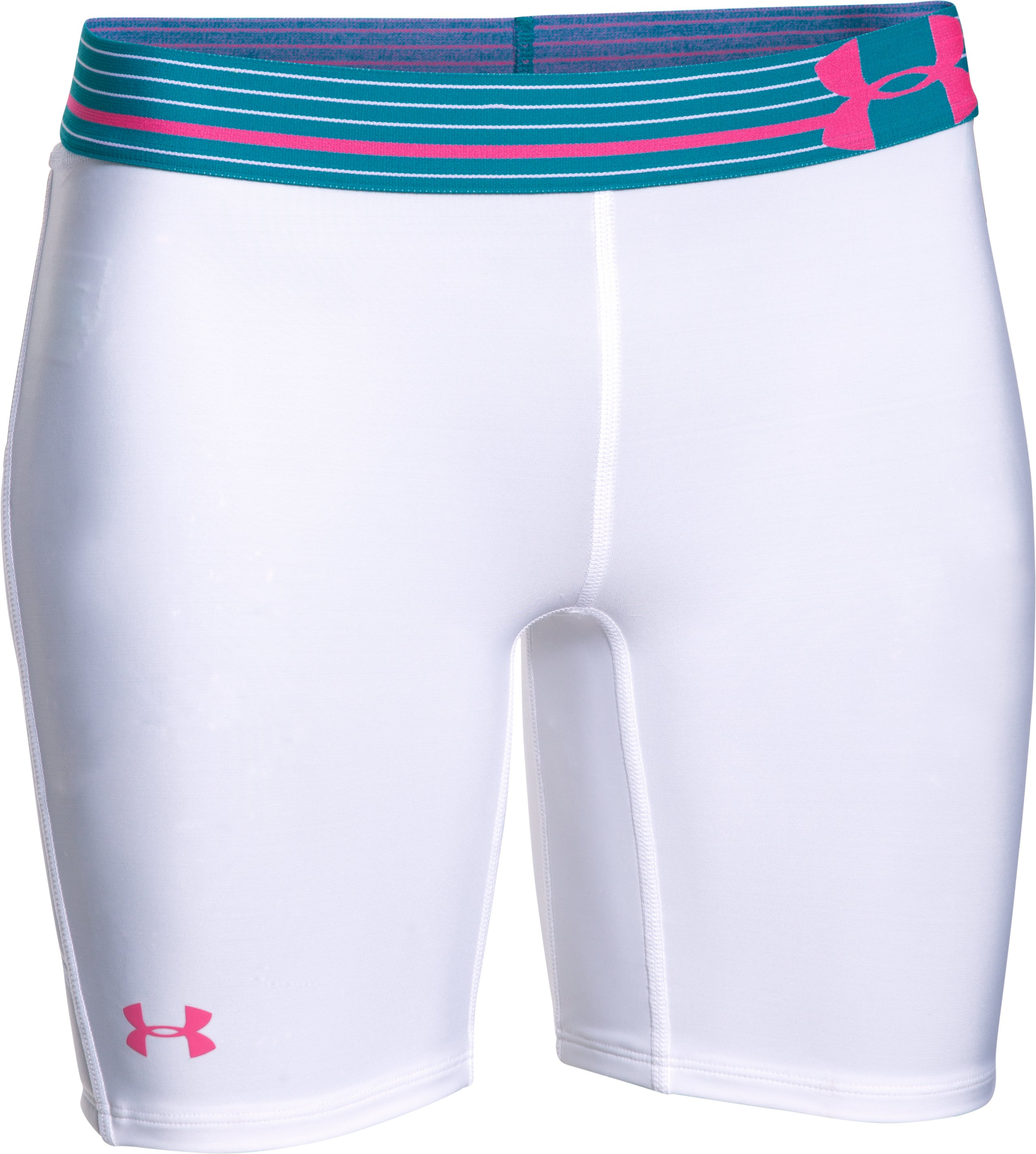 Women's UA Strike Zone Slider, White