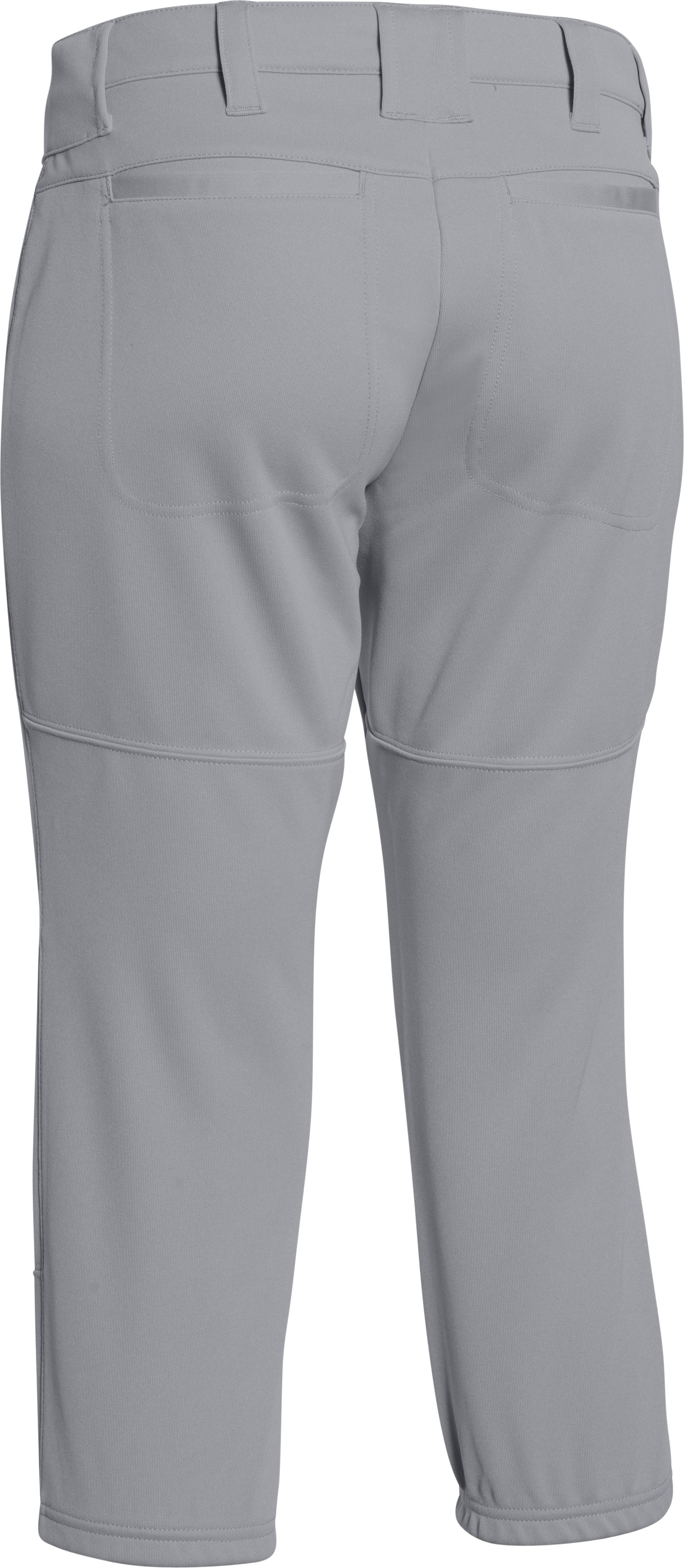 Women's UA Strike Zone Pant, Baseball Gray, undefined