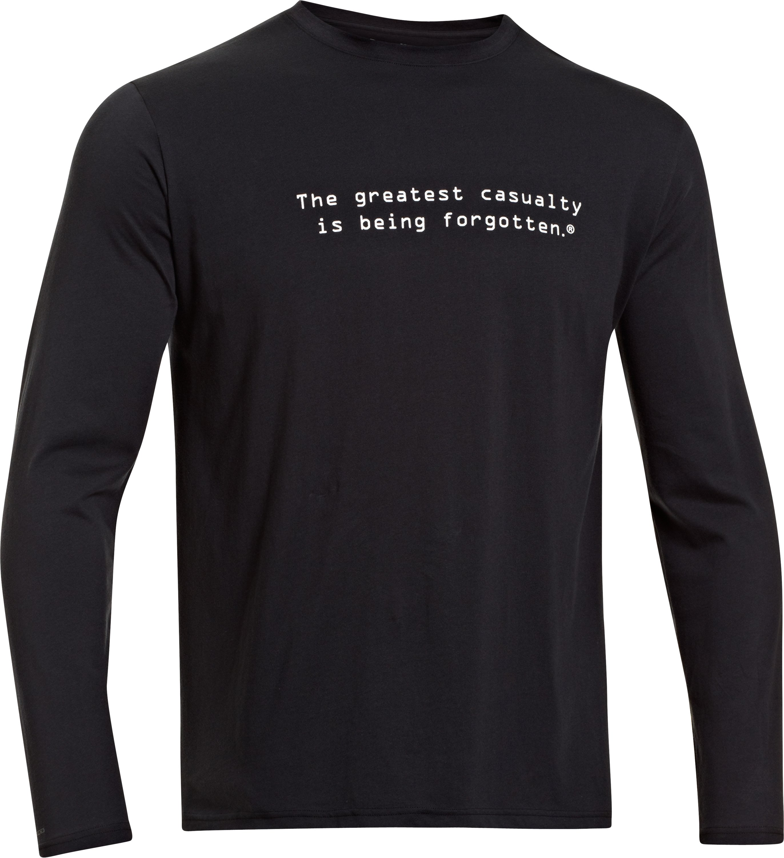 Men's UA WWP Long Sleeve T-Shirt, Black