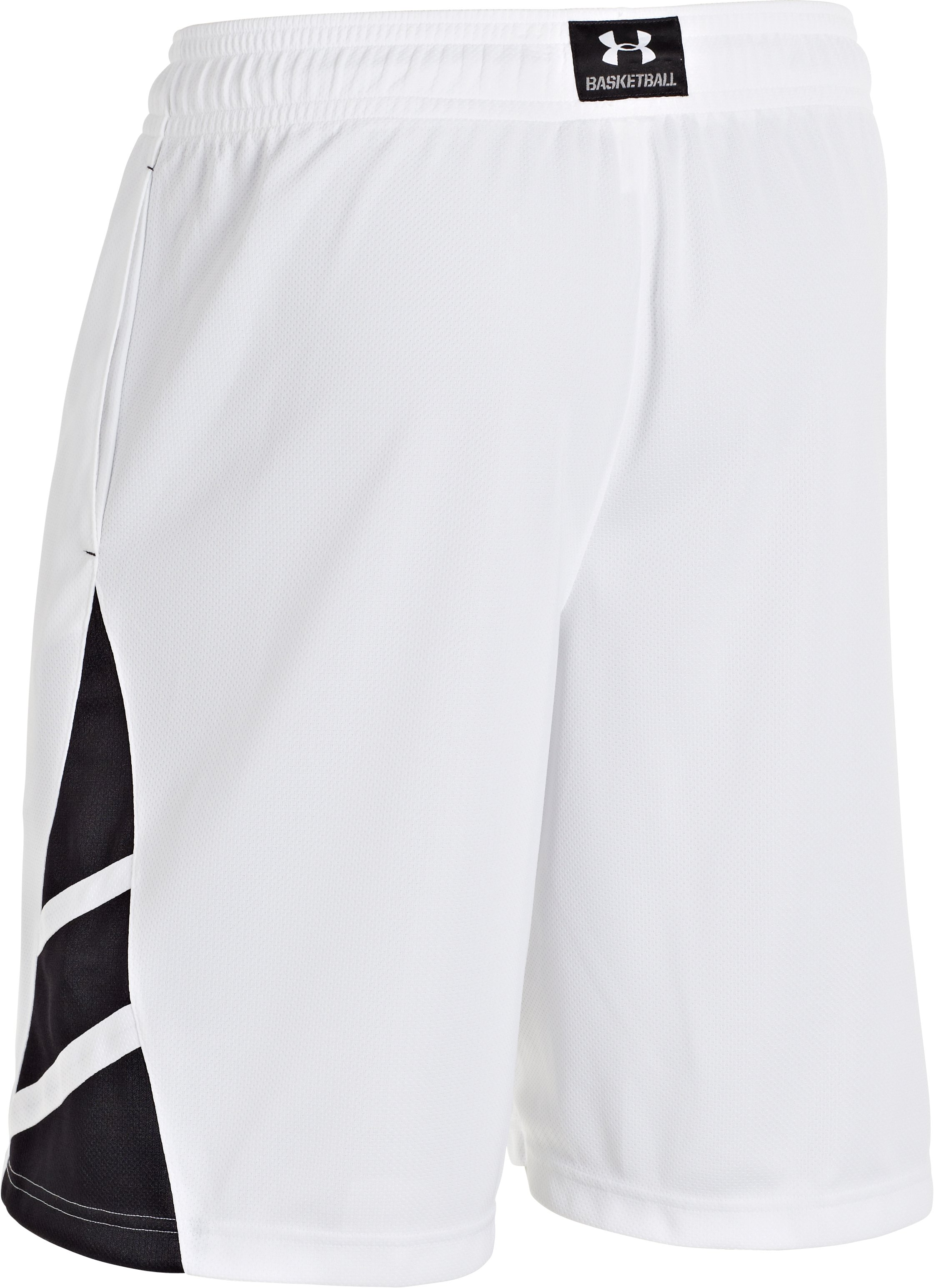 Men's UA Big Timin Shorts, White