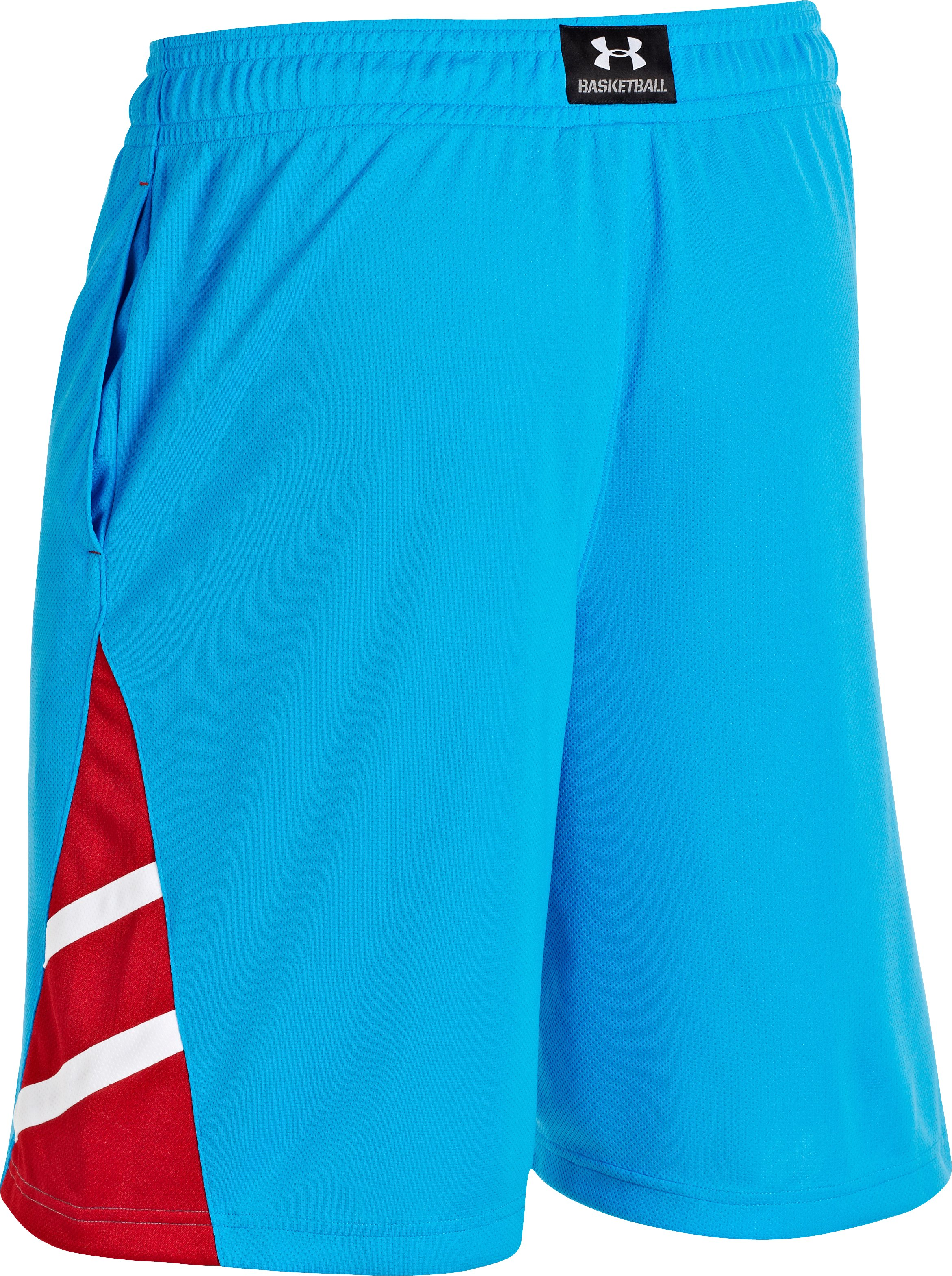 Men's UA Big Timin Shorts, ELECTRIC BLUE, undefined