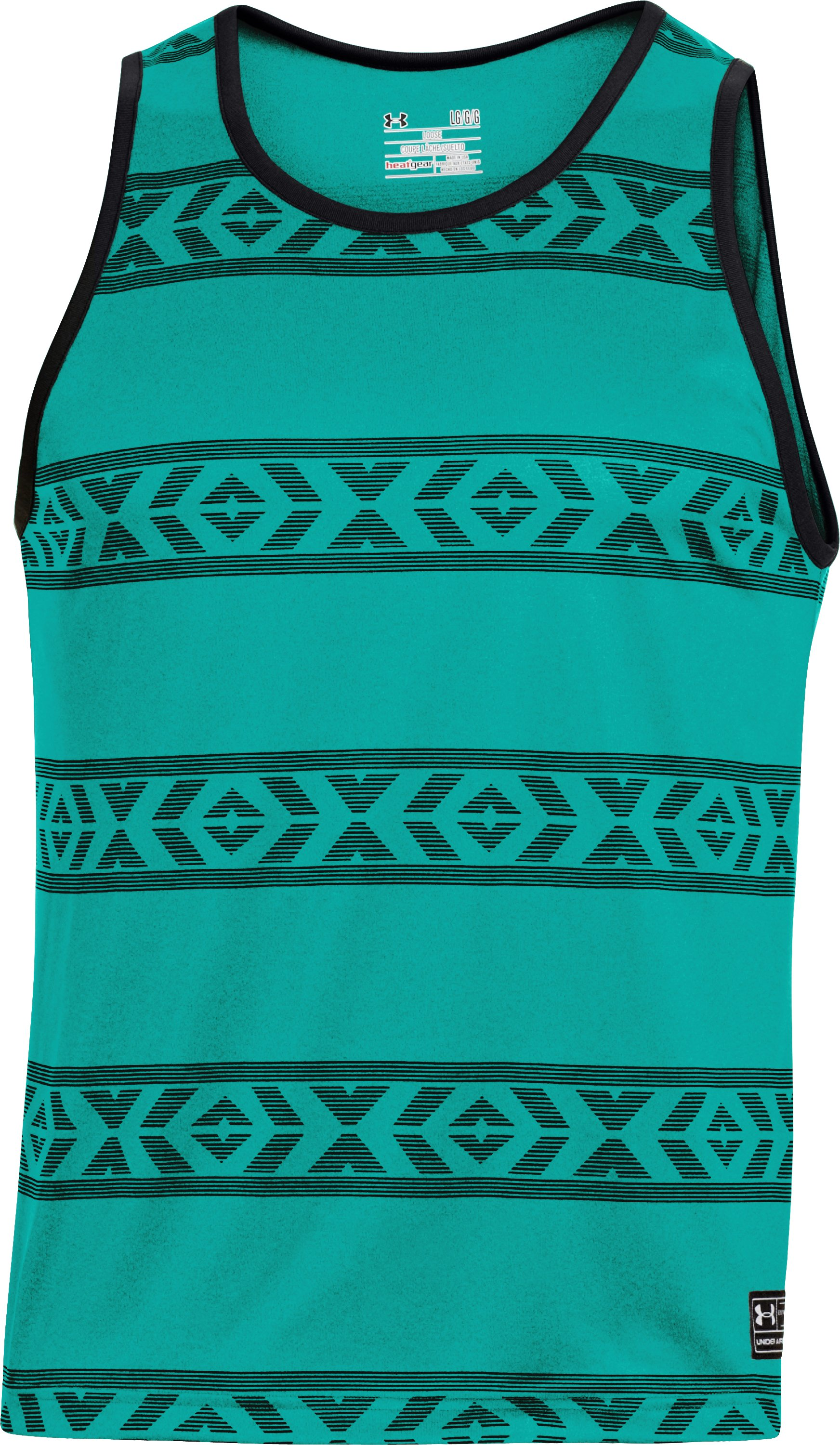 Men's UA Hut 2 Tank, Jade River