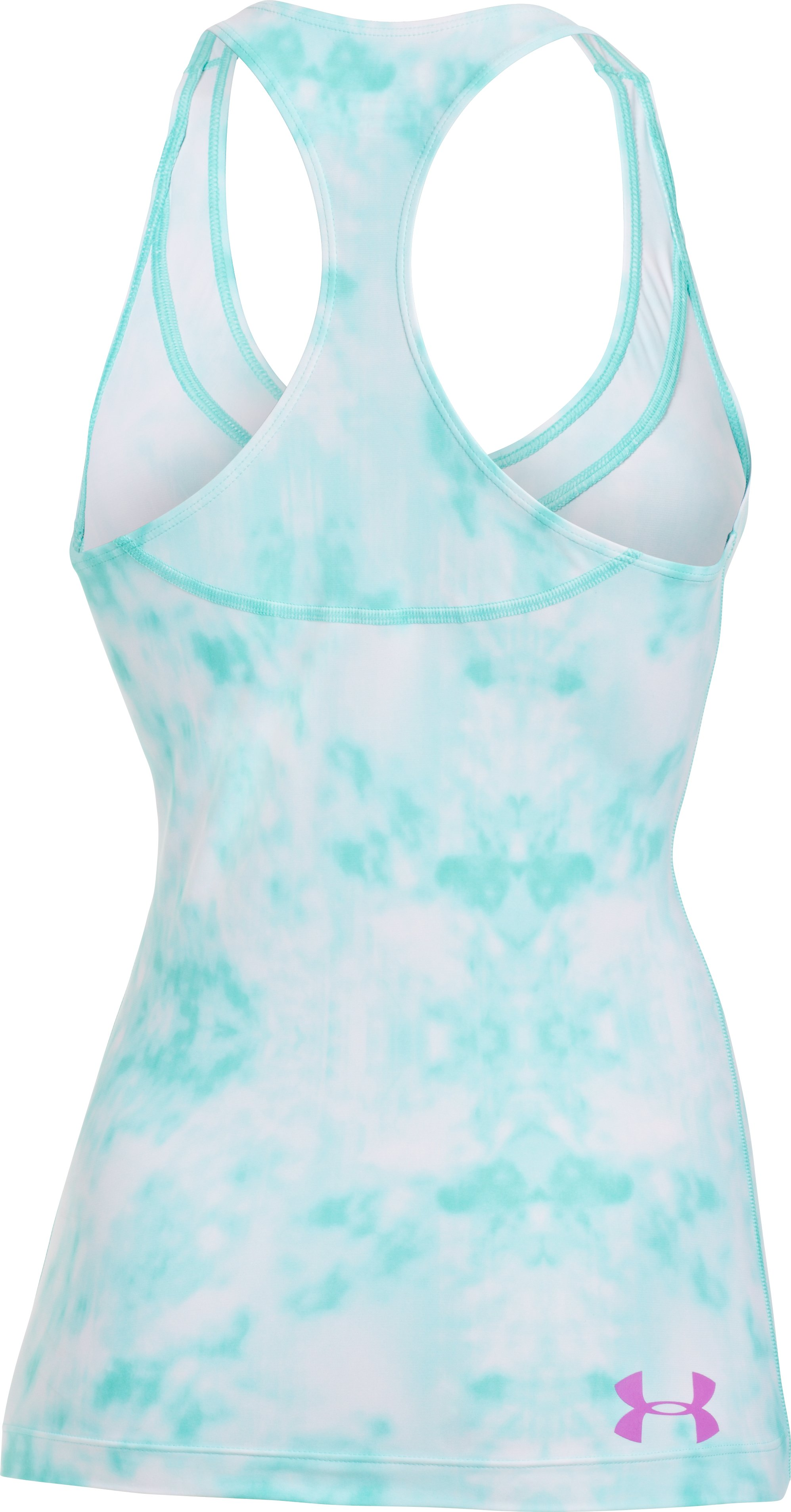 Women's UA Lianne Rash Guard Tank Top, TROPICAL TIDE, undefined