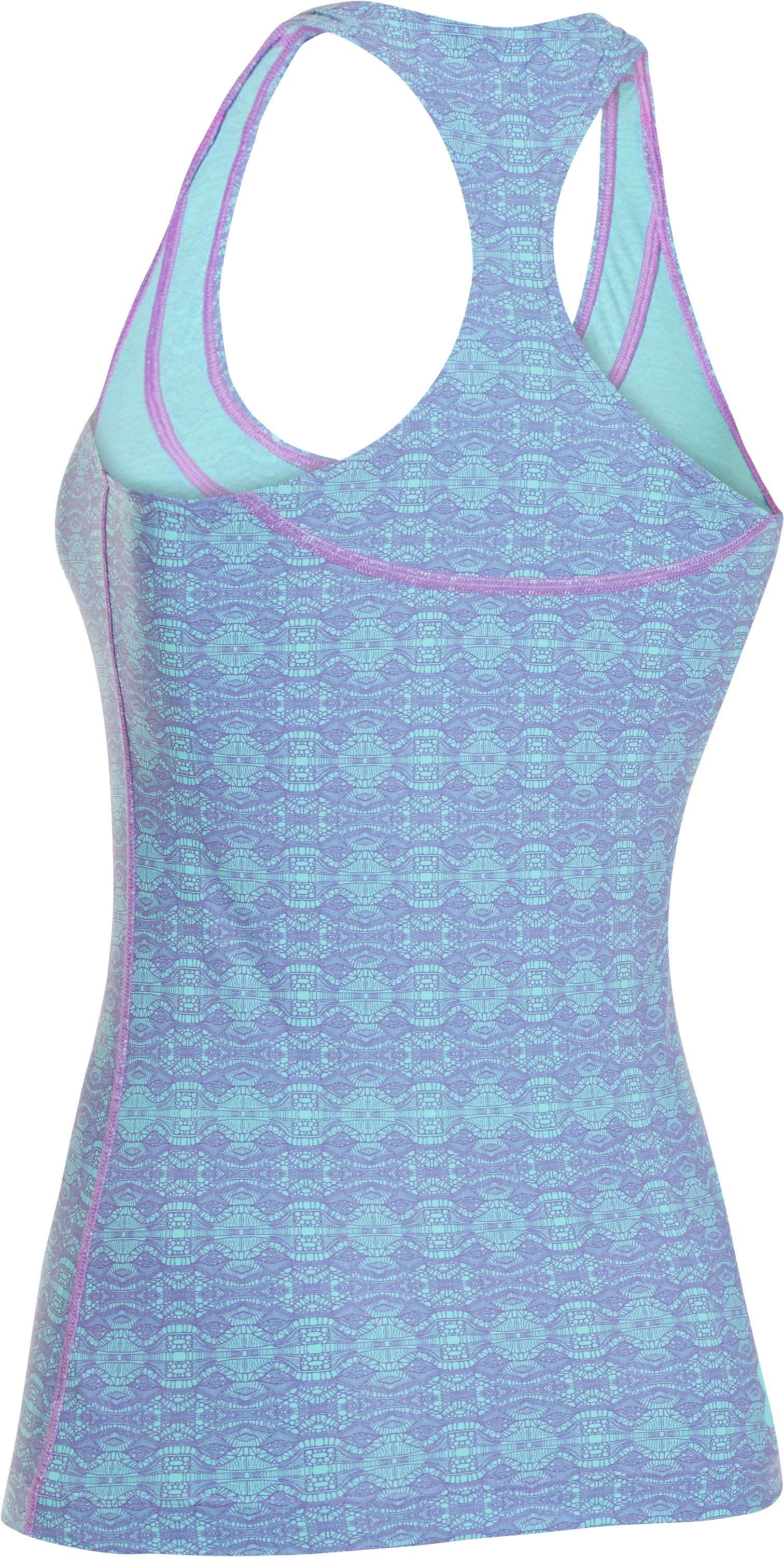 Women's UA Lianne Rash Guard Tank Top, EXOTIC BLOOM
