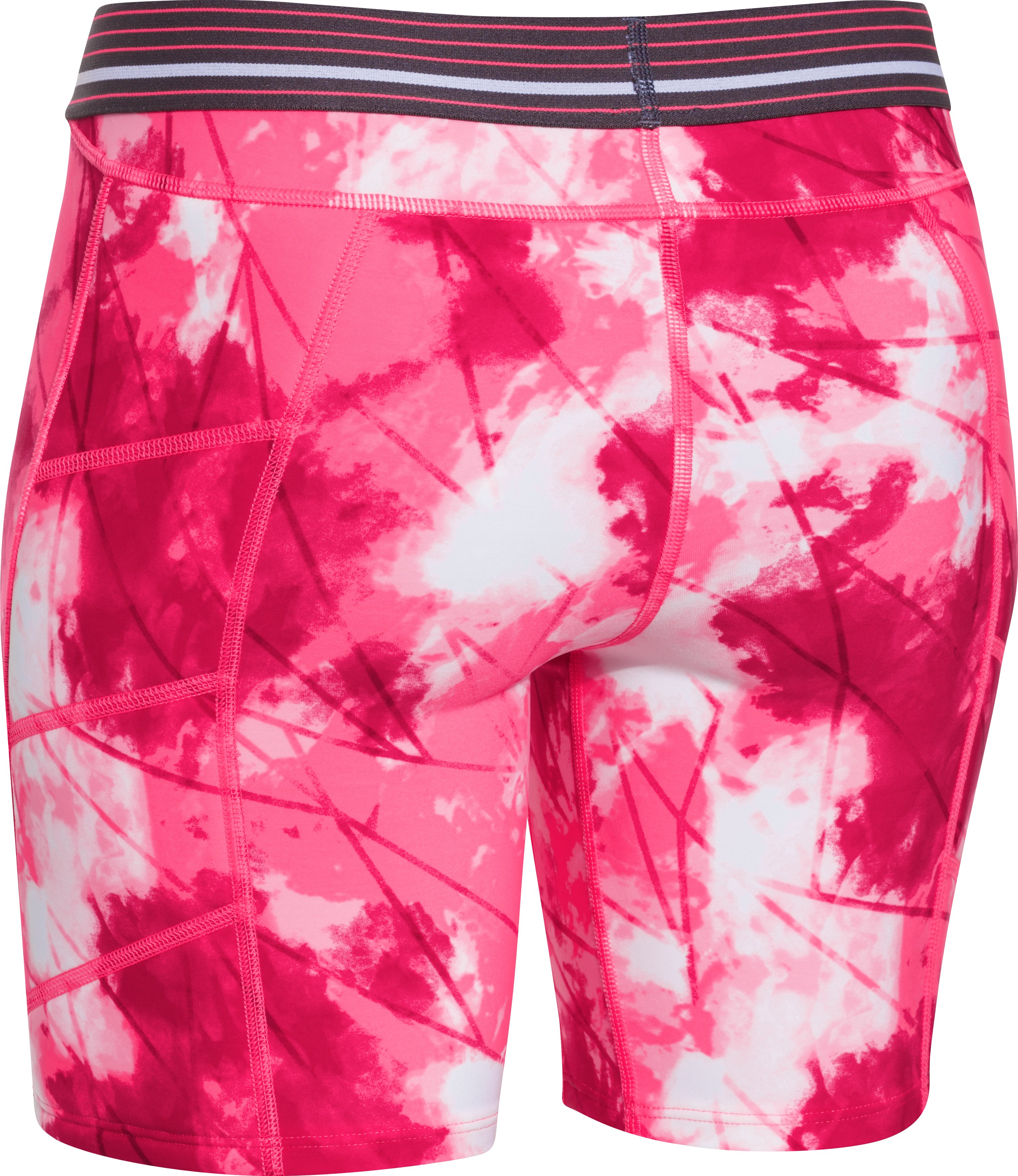 Women's UA Strike Zone Print Slider, Cerise