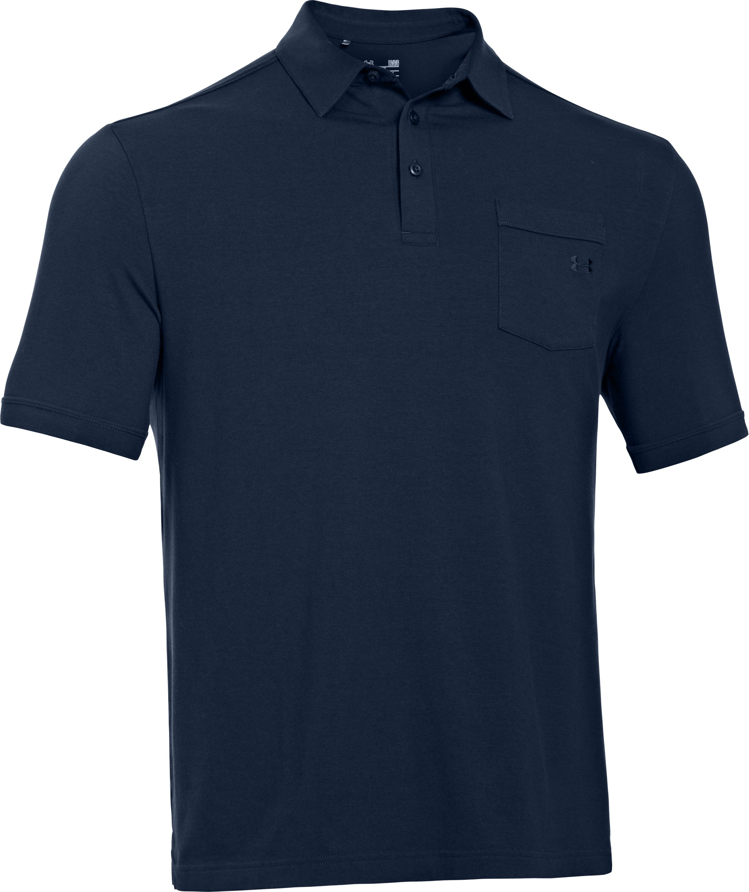 Men's Charged Cotton® Pocket Polo, Academy