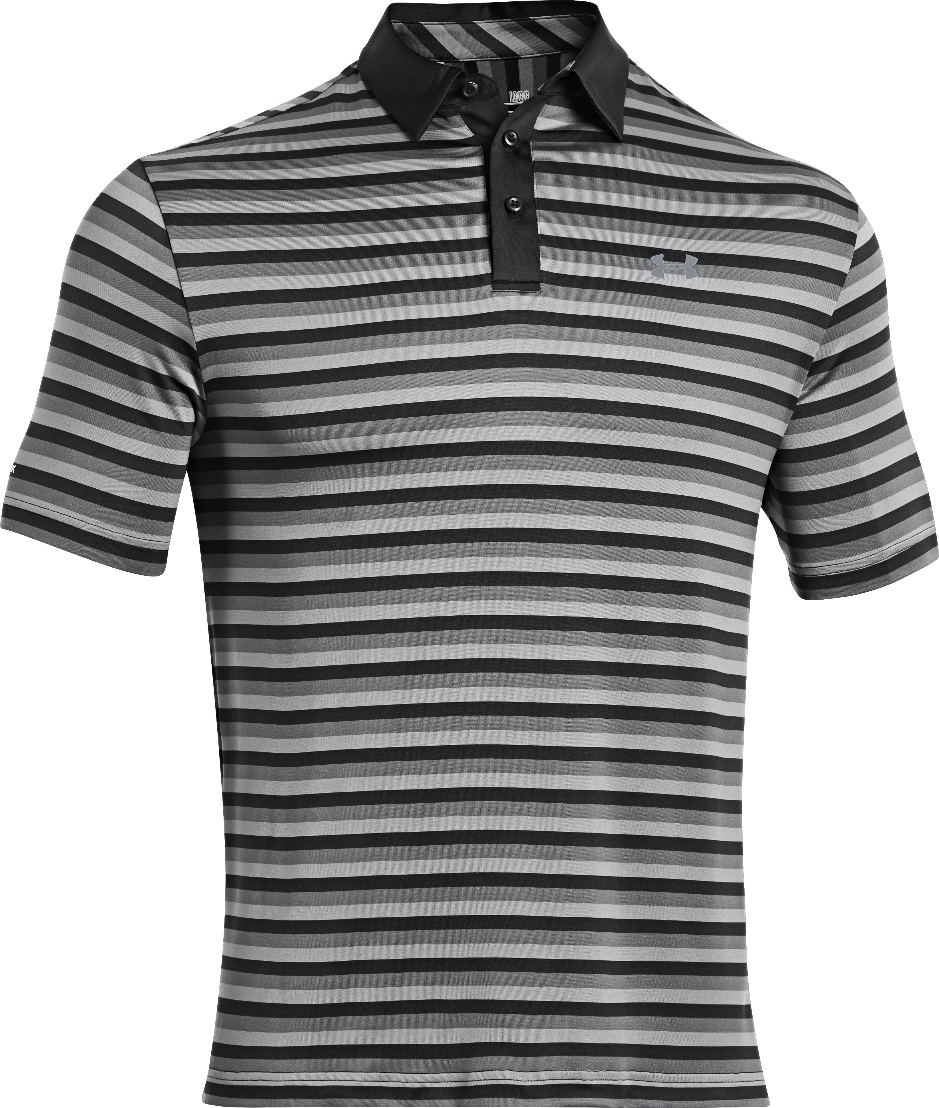 Men's coldblack® Tonal Fade Polo, Black