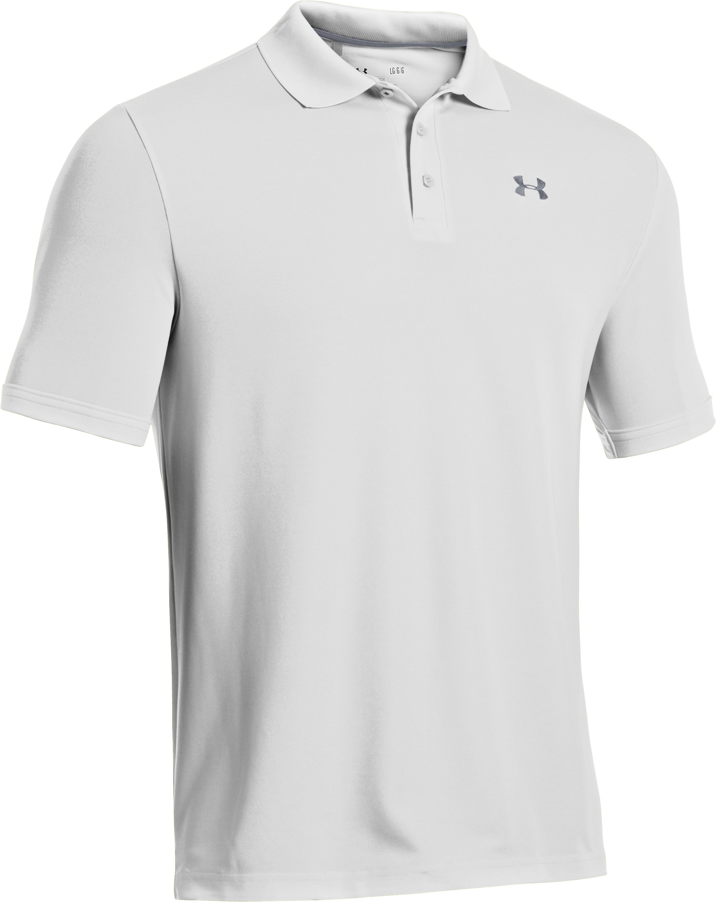 Men's UA Performance Polo, White, undefined