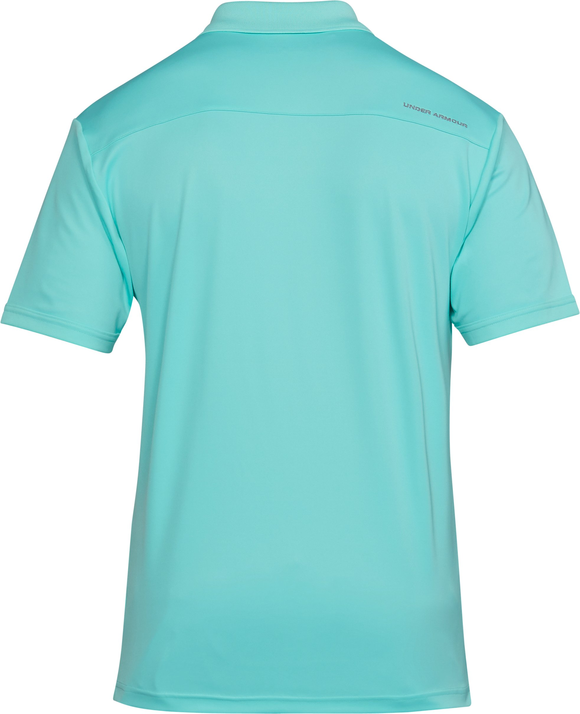 Men's UA Performance Polo, TROPICAL TIDE, undefined