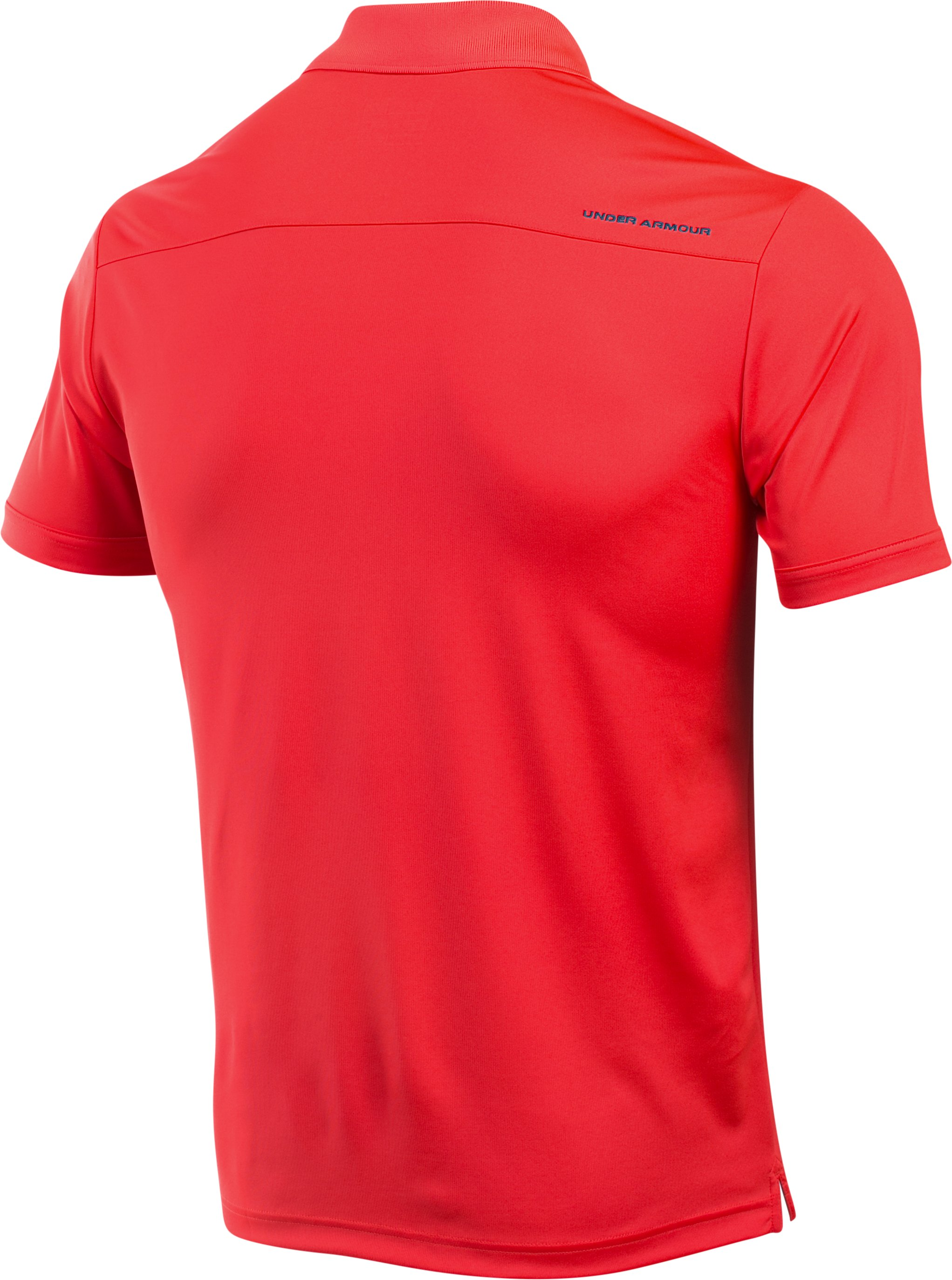 Men's UA Performance Polo, ROCKET RED