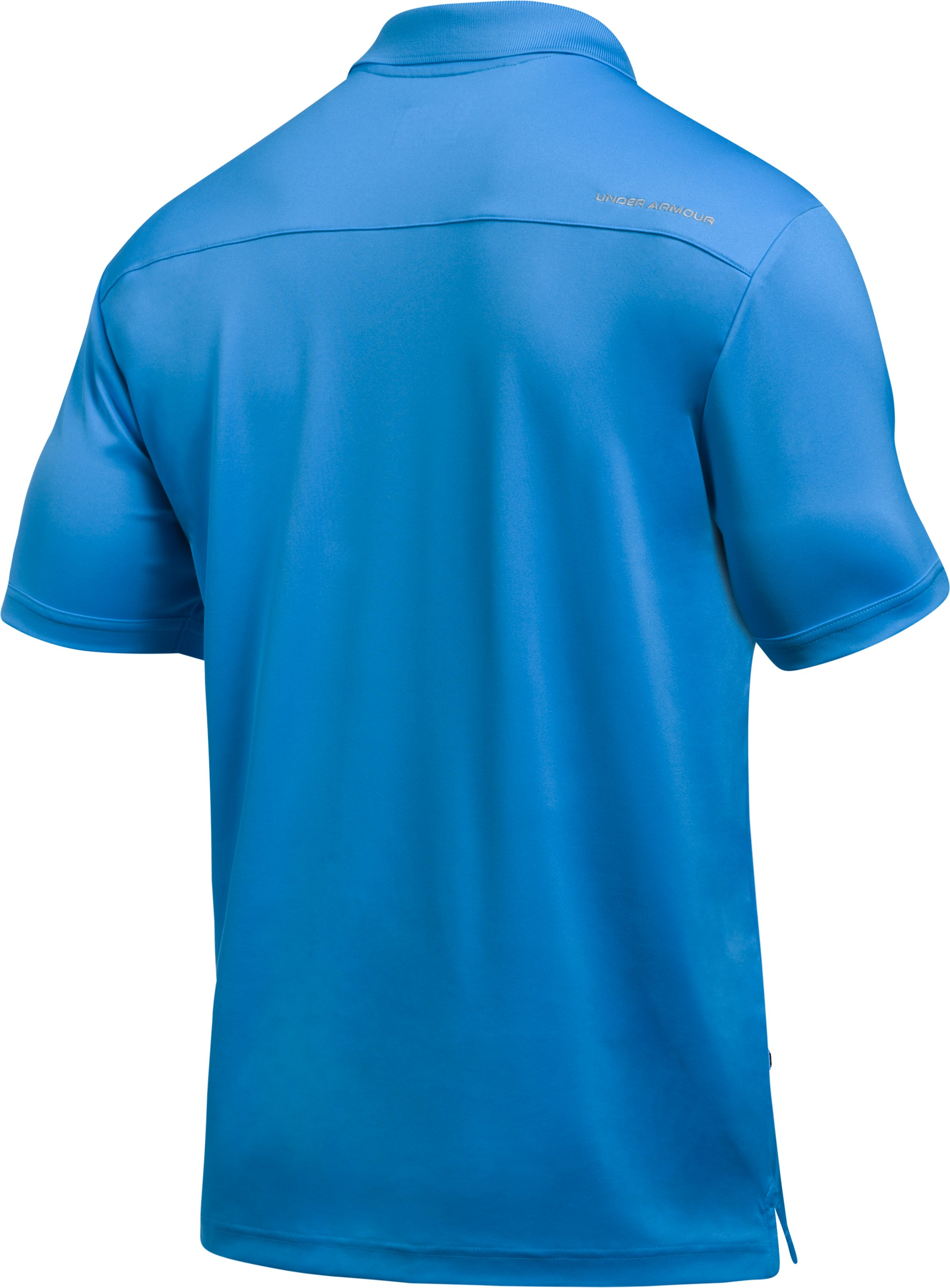 Men's UA Performance Polo, MAKO BLUE,