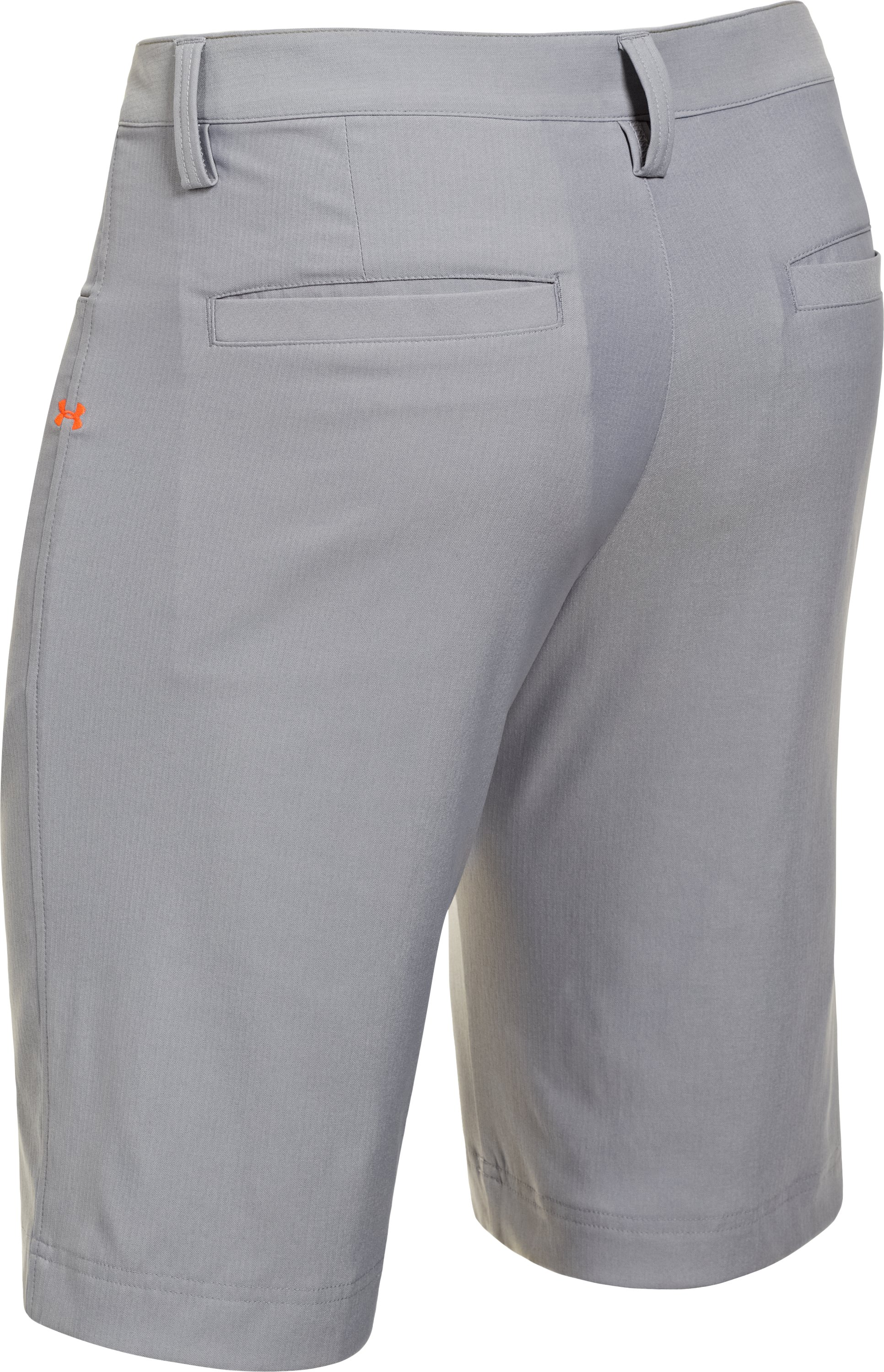 Men's UA Elevated Twill Golf Shorts, Steel