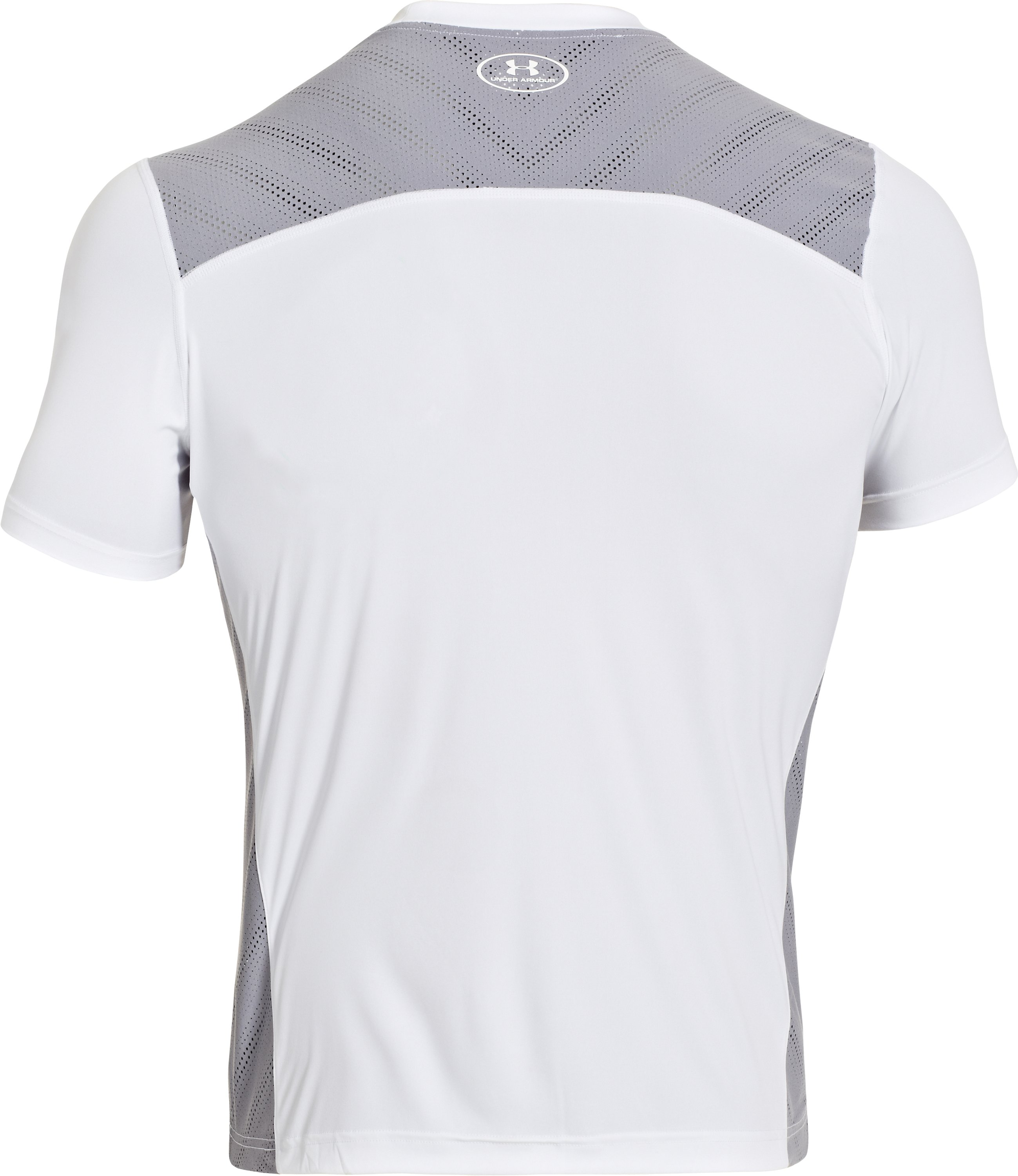 Men's HeatGear® ArmourVent™ Training T-Shirt, White, undefined