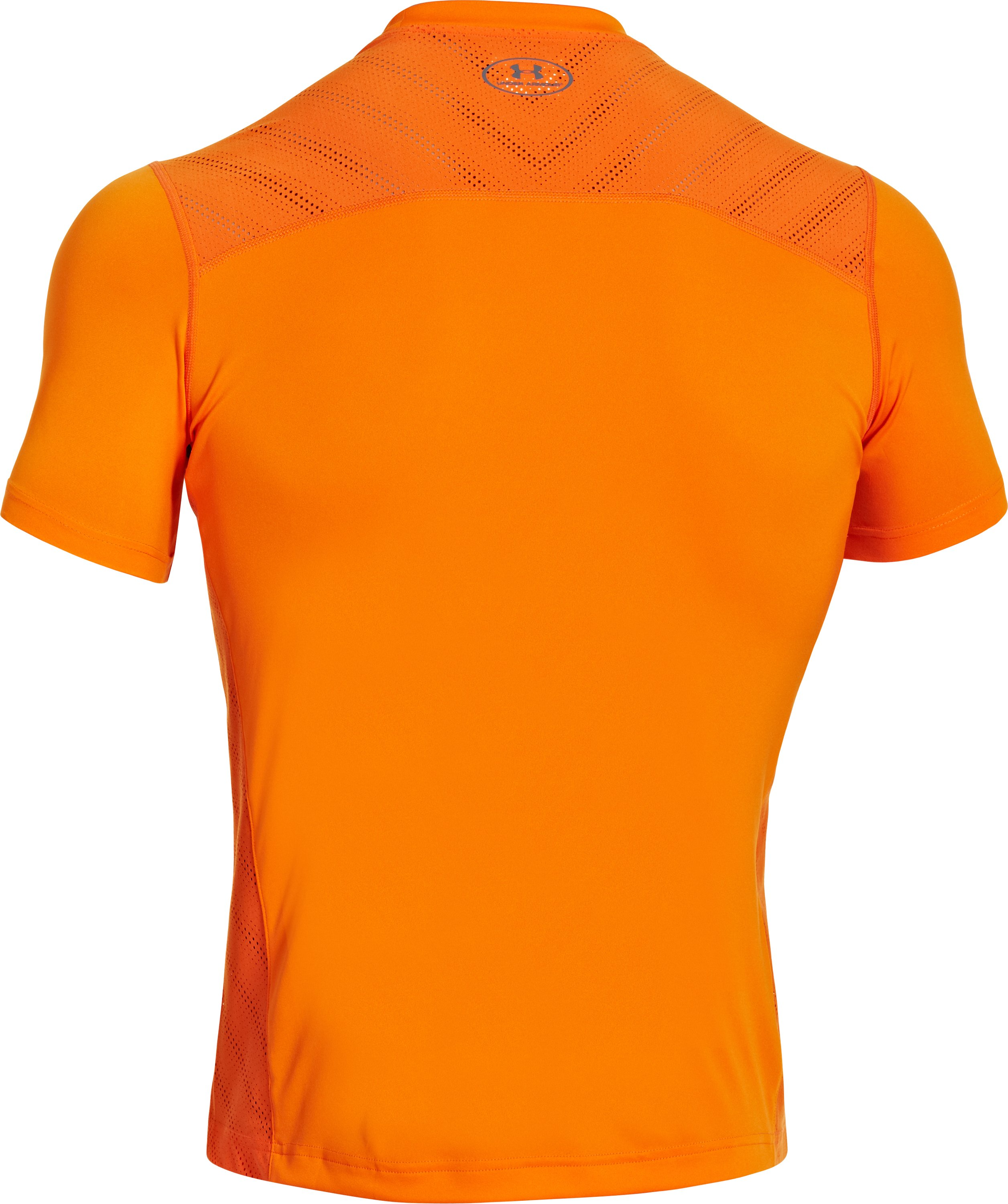 Men's HeatGear® ArmourVent™ Training T-Shirt, OUTRAGEOUS ORANGE