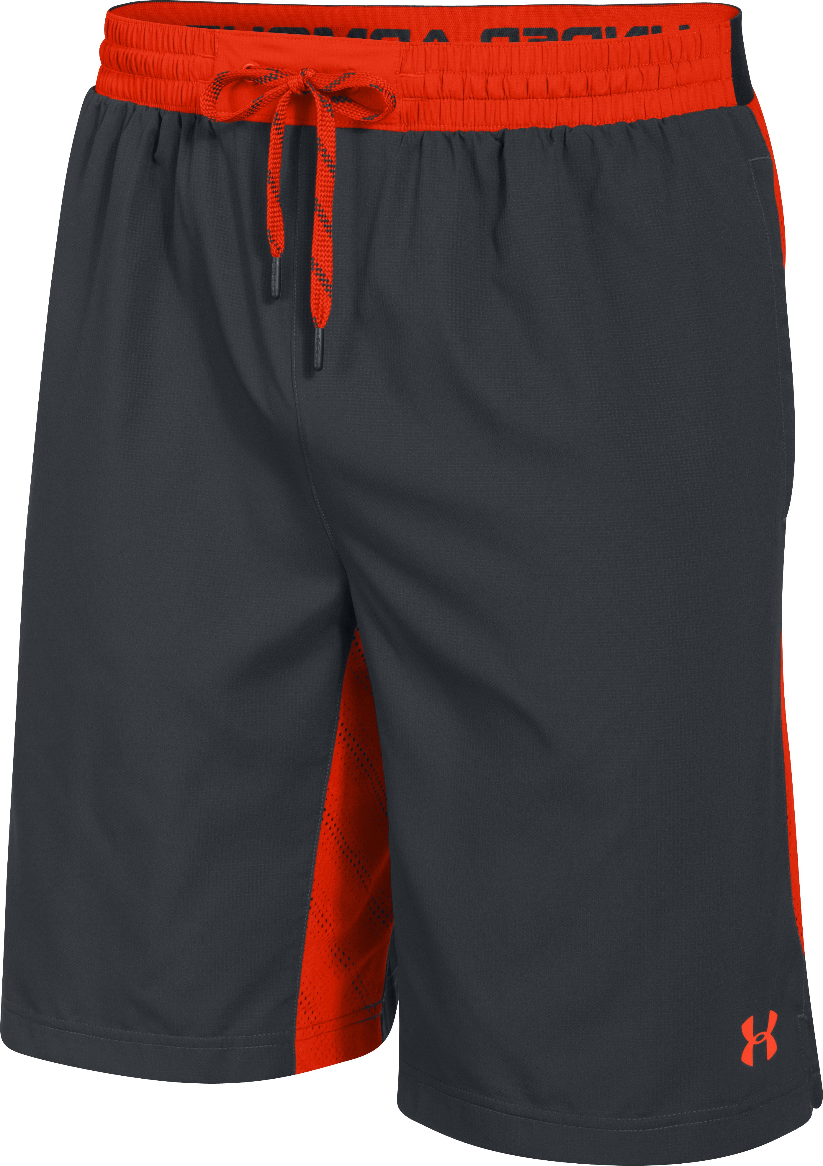 Men's UA HeatGear® ArmourVent™ Shorts, ANTHRACITE,